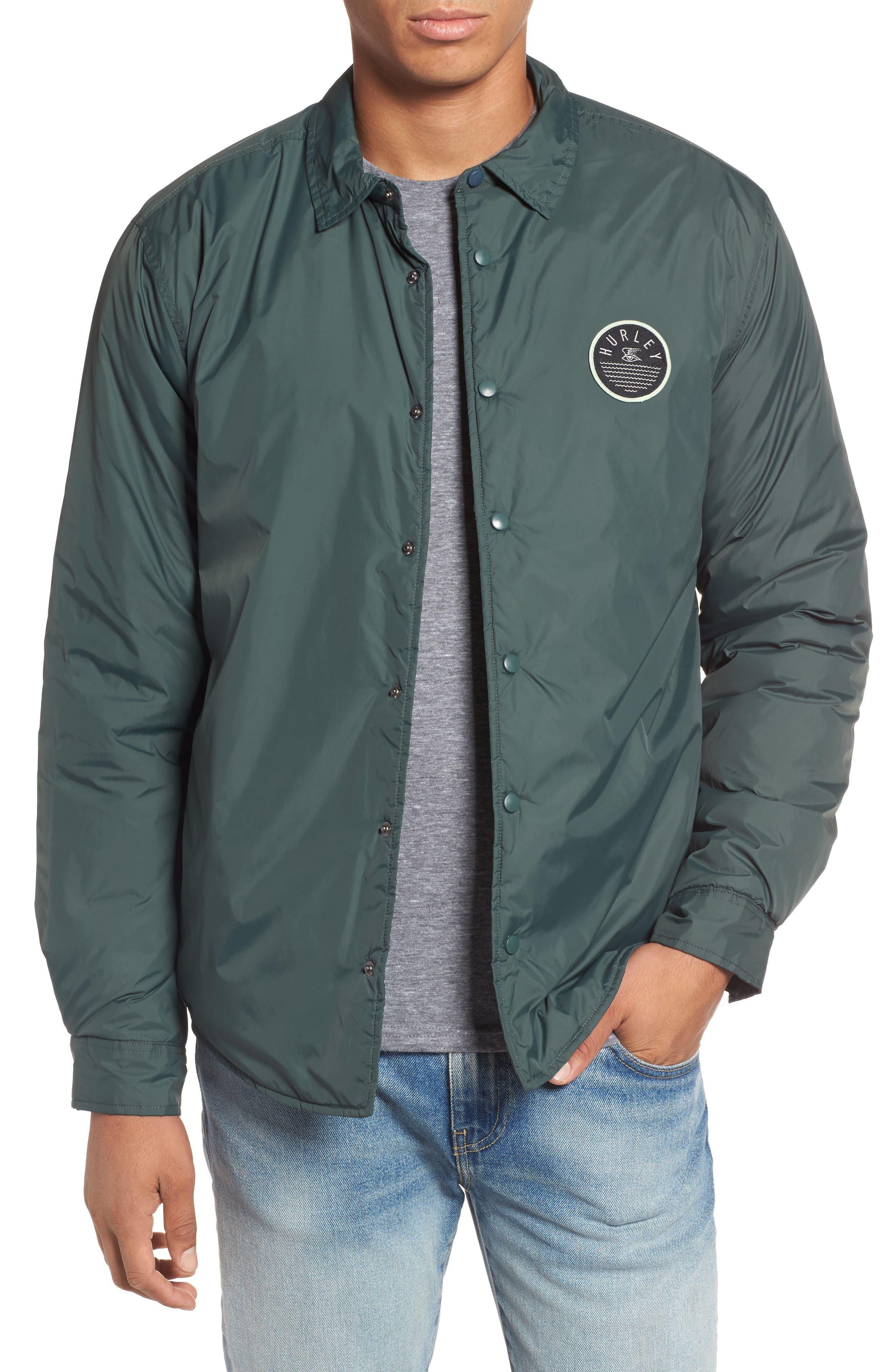 Portland Jacket,                         Main,                         color, Vintage Green