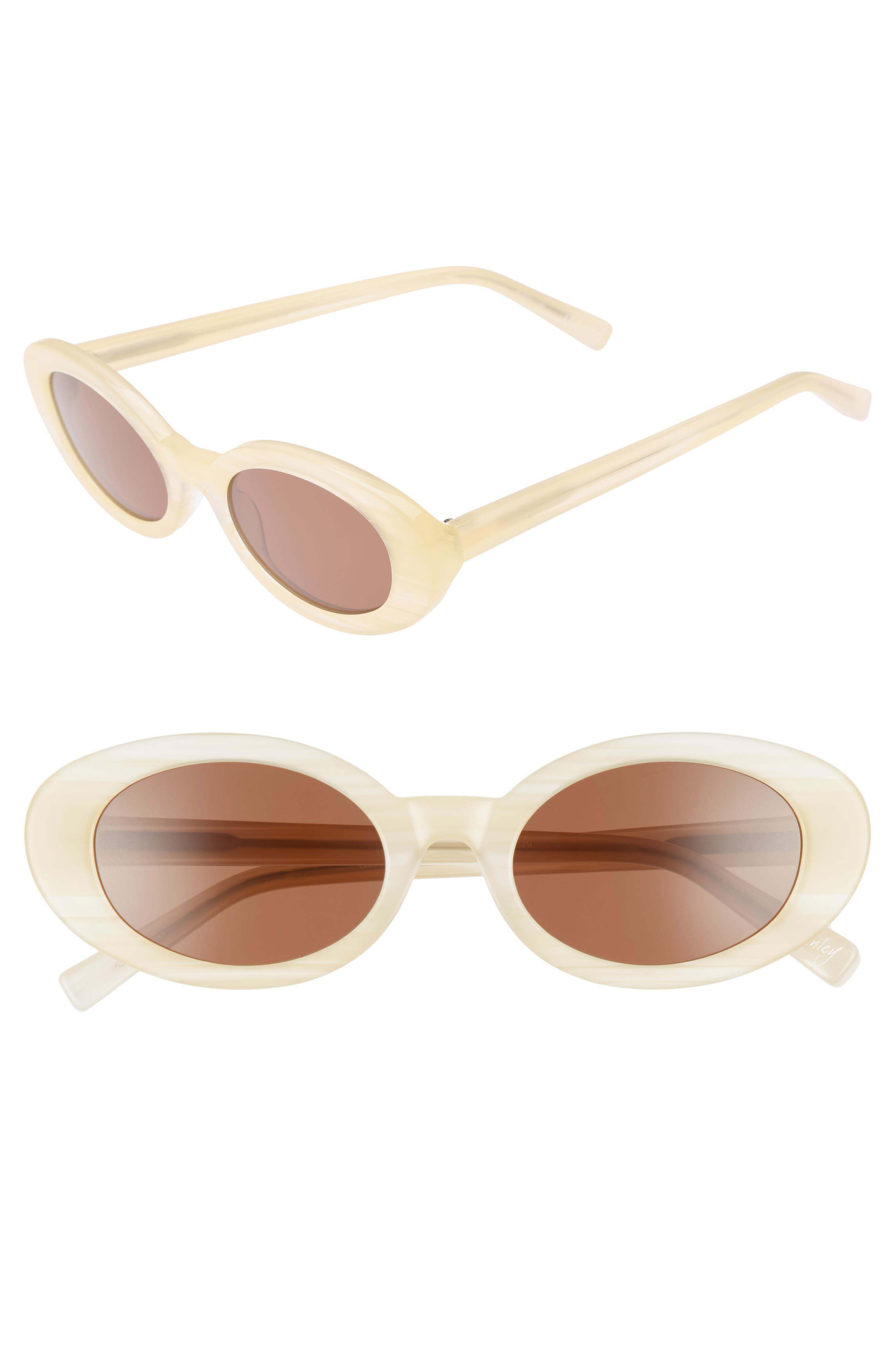 Main Image - Elizabeth and James McKinely 51mm Oval Sunglasses
