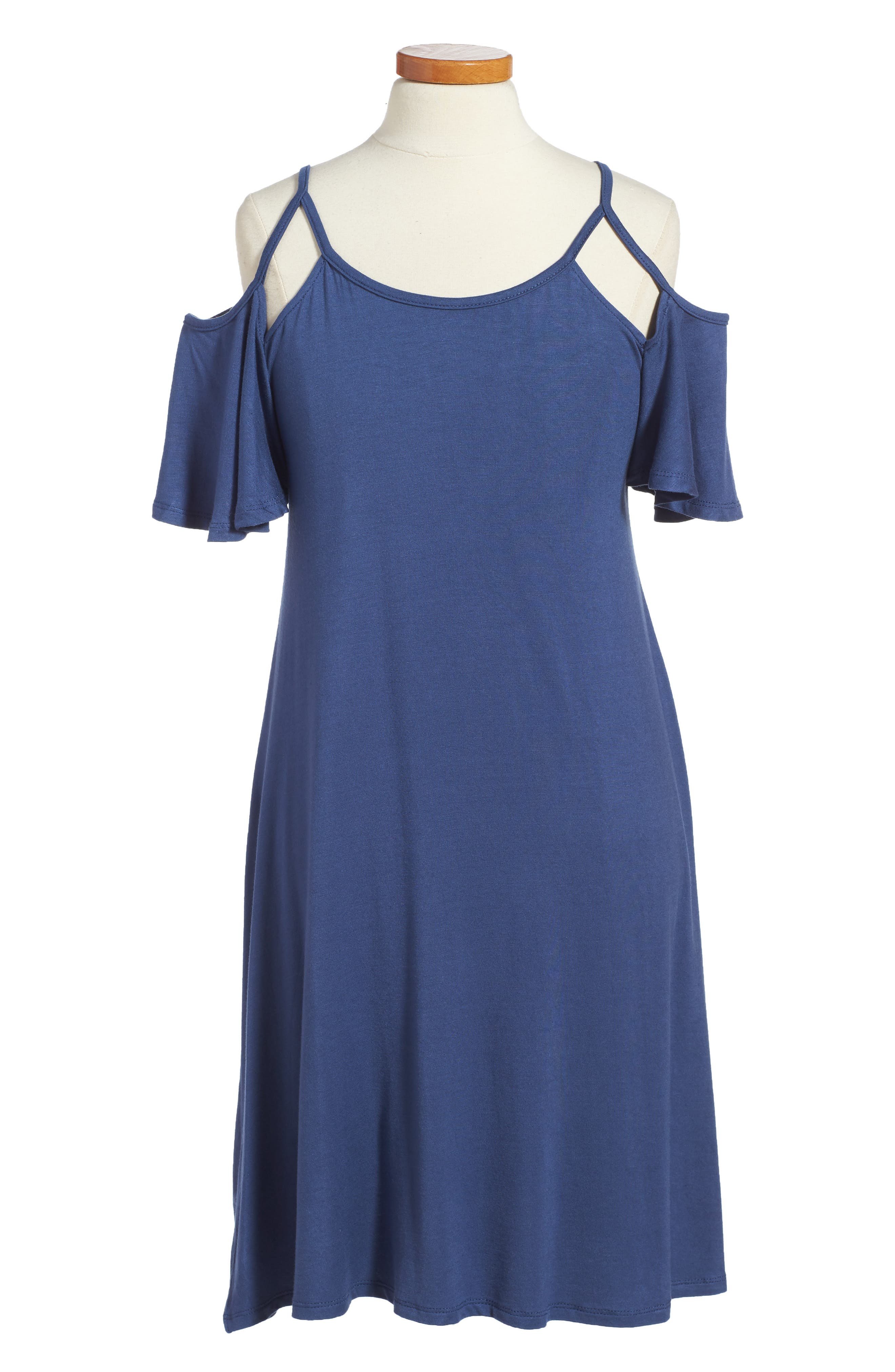 Penelope Tree Regine Cold Shoulder Dress (Big Girls)