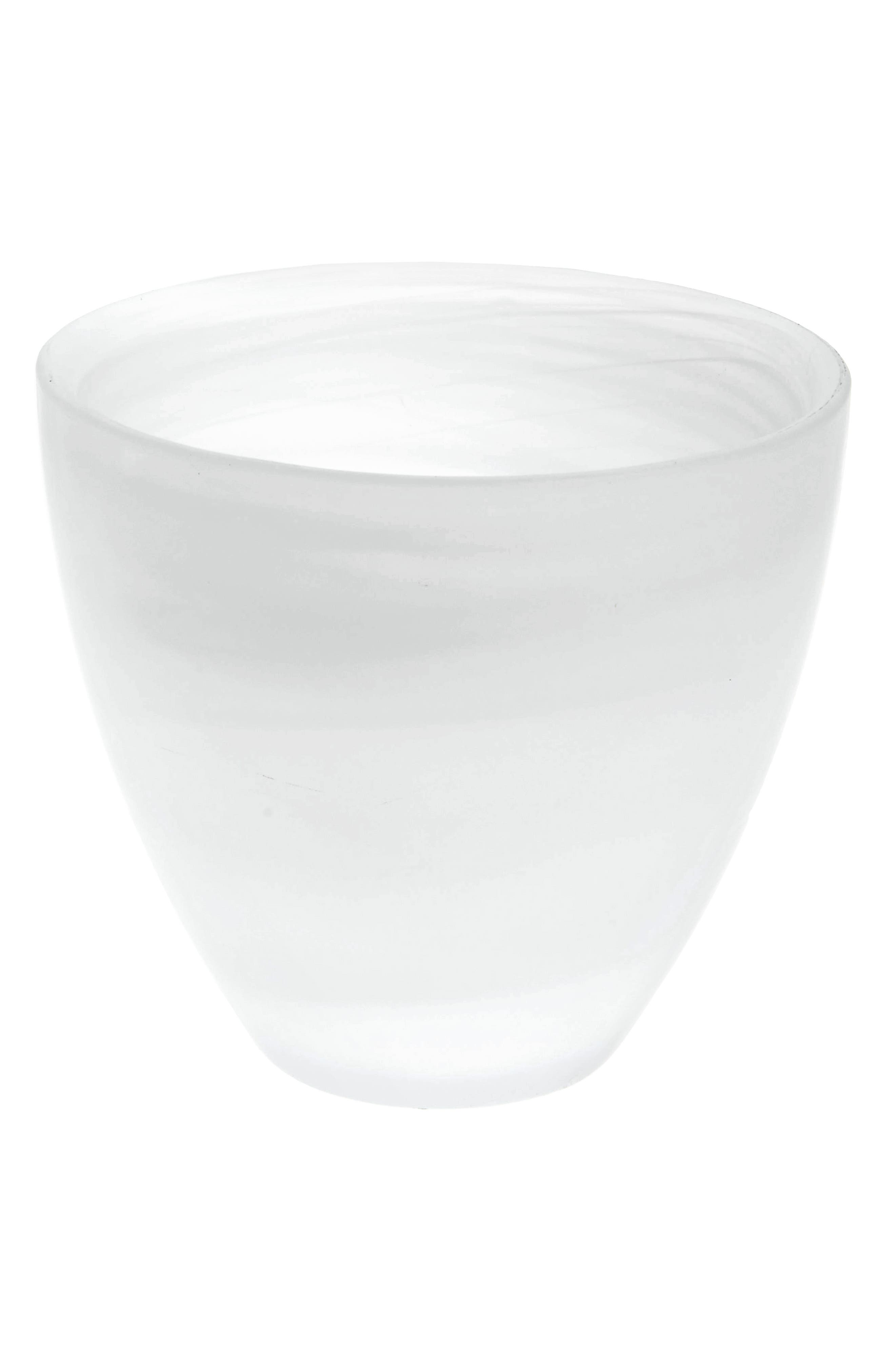 Shiraleah Frosted Glass Nut Bowl