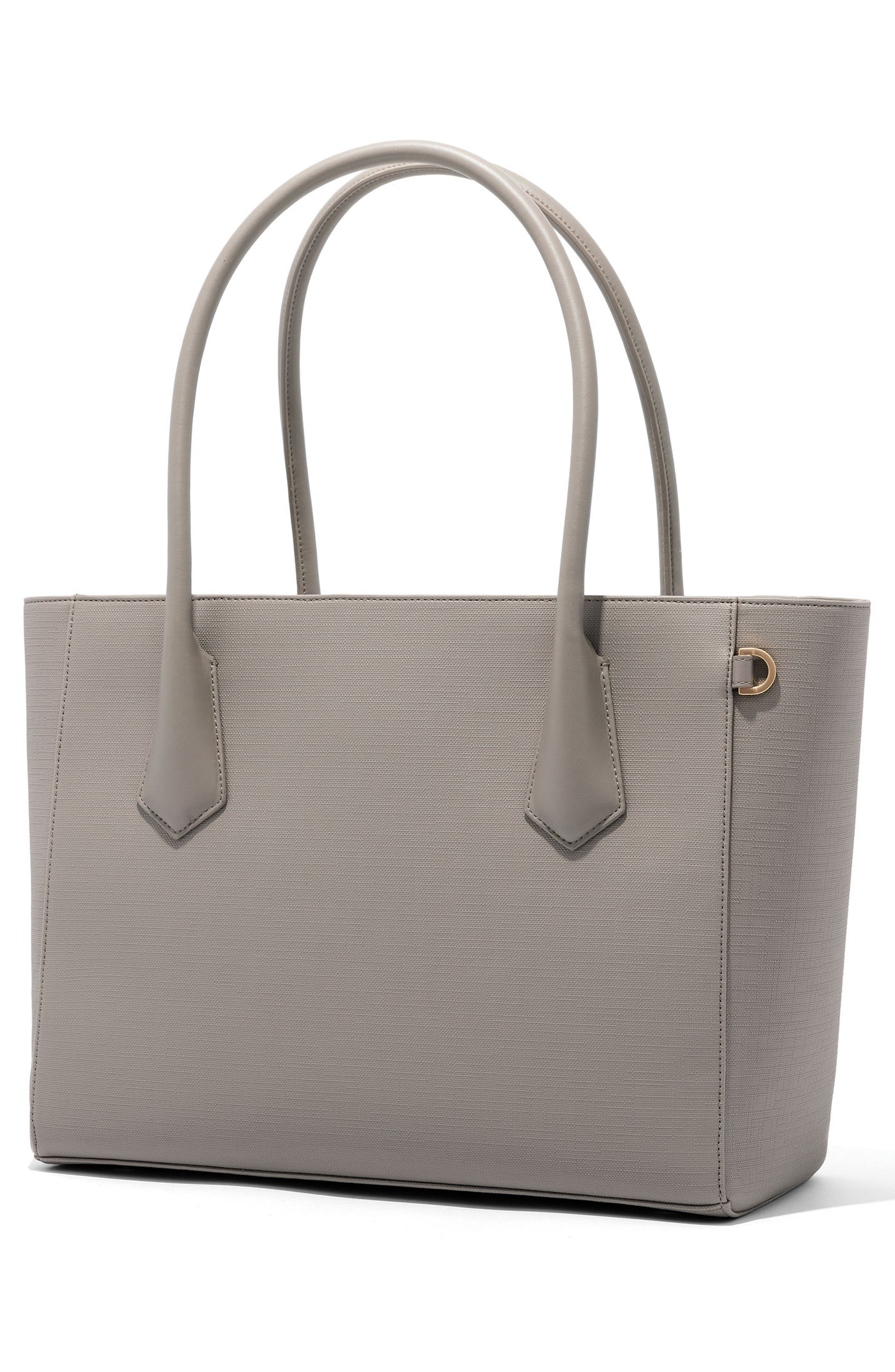 Signature Legend Coated Canvas Tote,                             Alternate thumbnail 3, color,                             Bleecker Blush