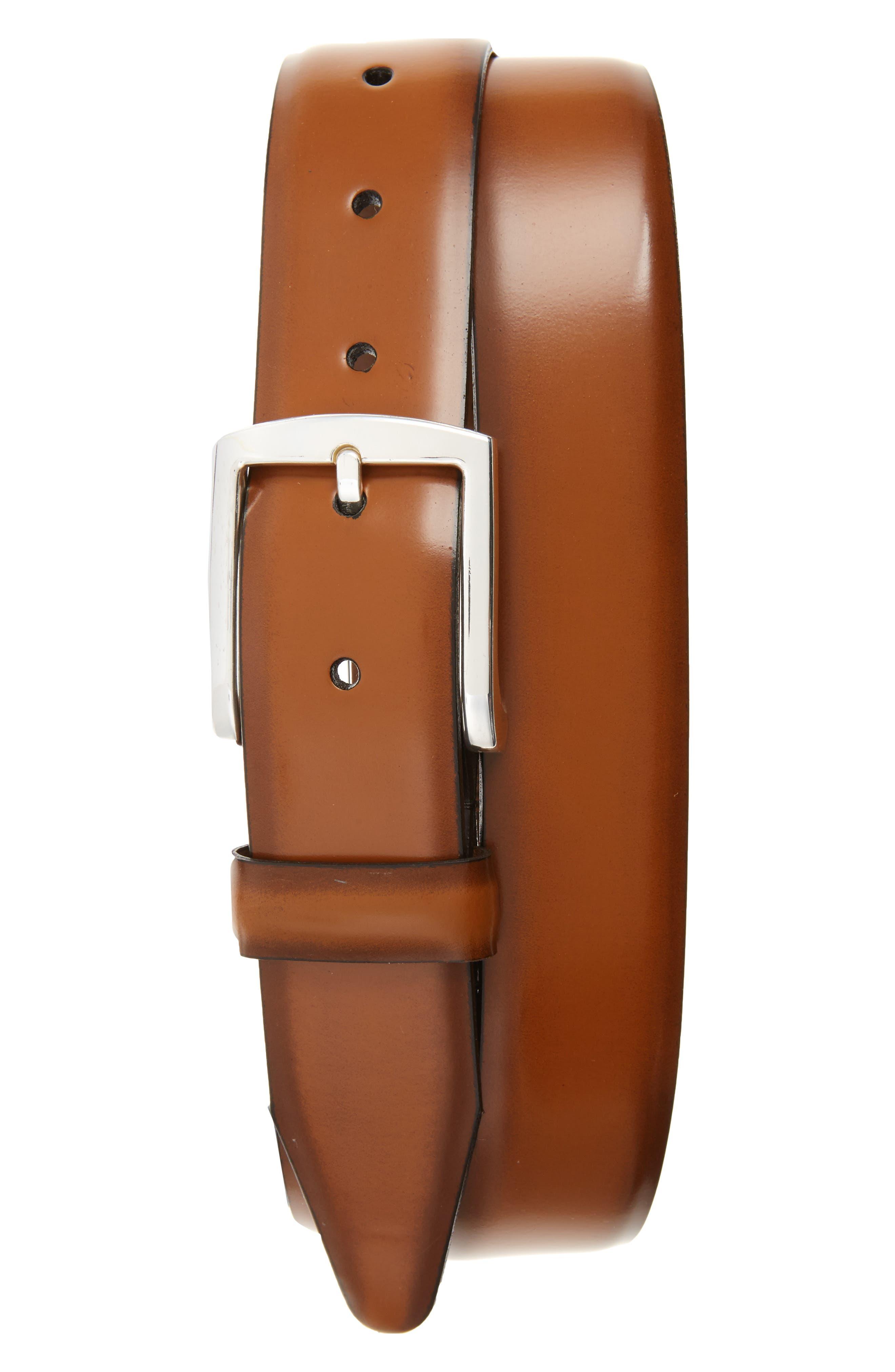 Alternate Image 1 Selected - Allen Edmonds Midland Ave. Leather Belt