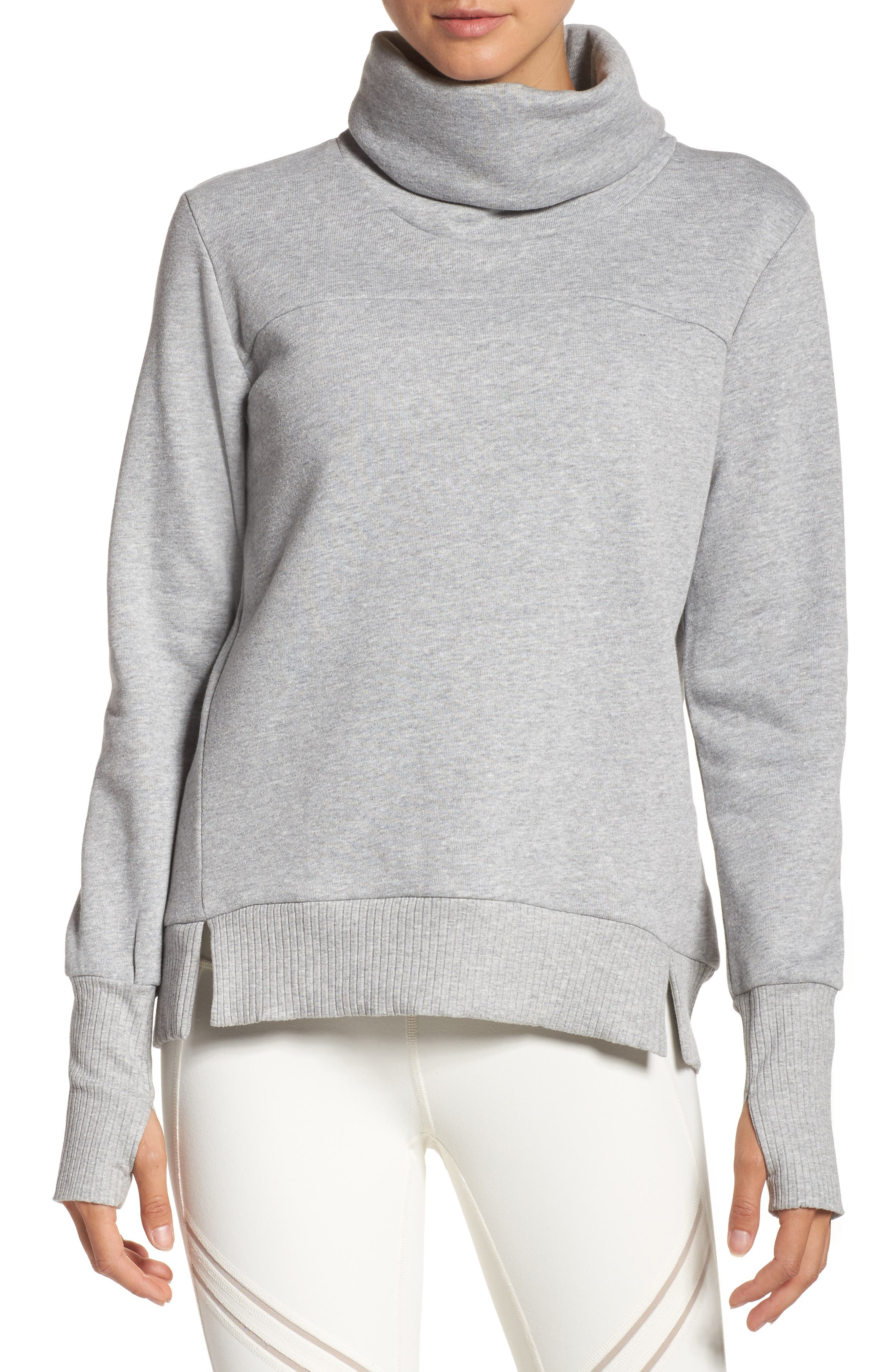Alo 'Haze' Funnel Neck Sweatshirt