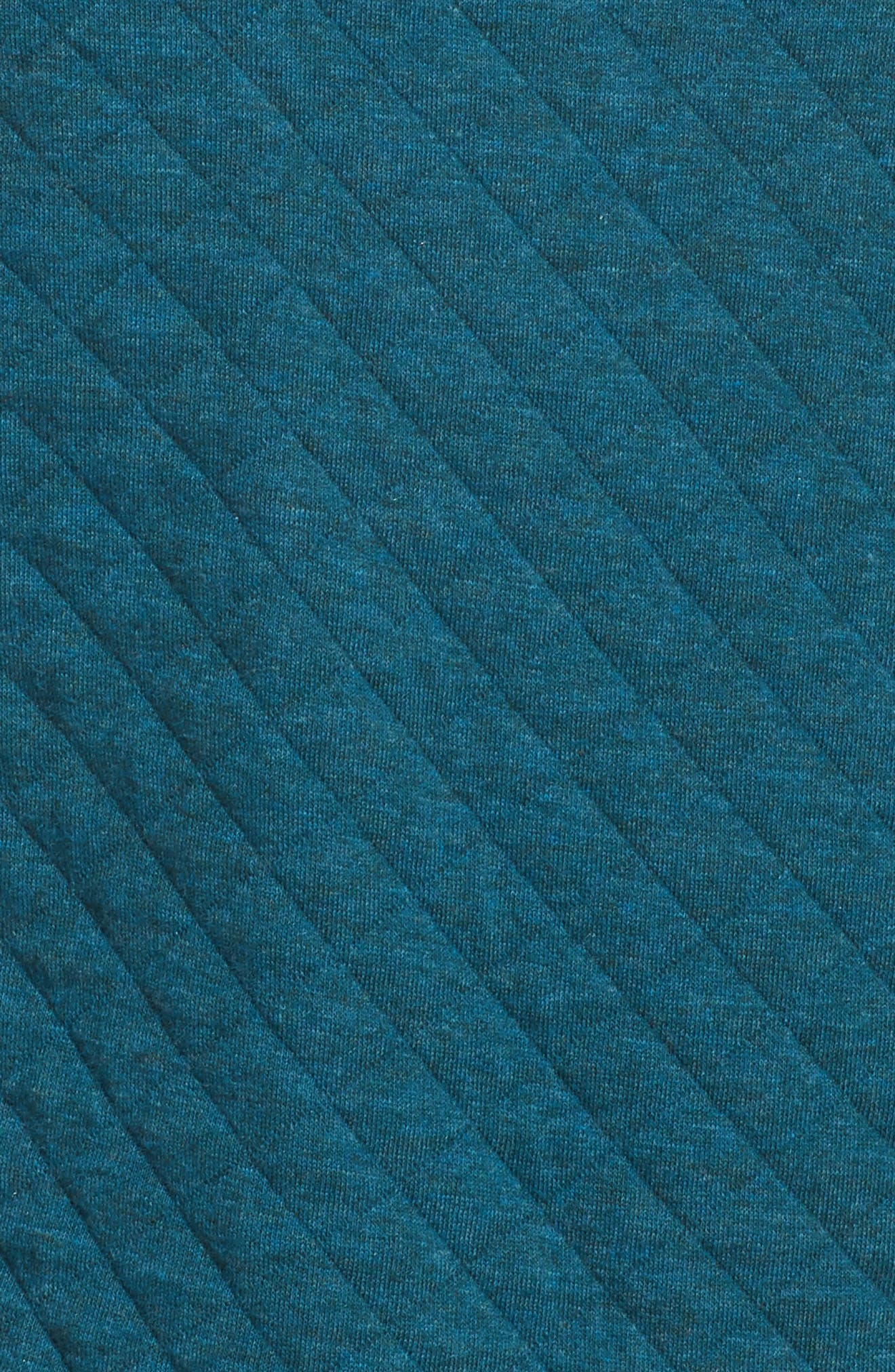 Snap-T<sup>®</sup> Quilted Pullover,                             Alternate thumbnail 6, color,                             Elwha Blue