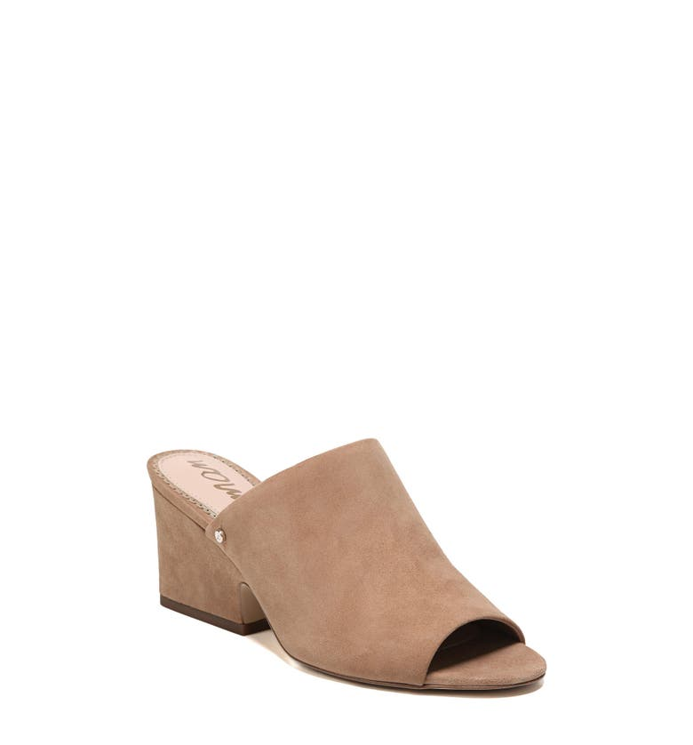 Rheta Mule,                         Main,                         color, Golden Caramel Suede