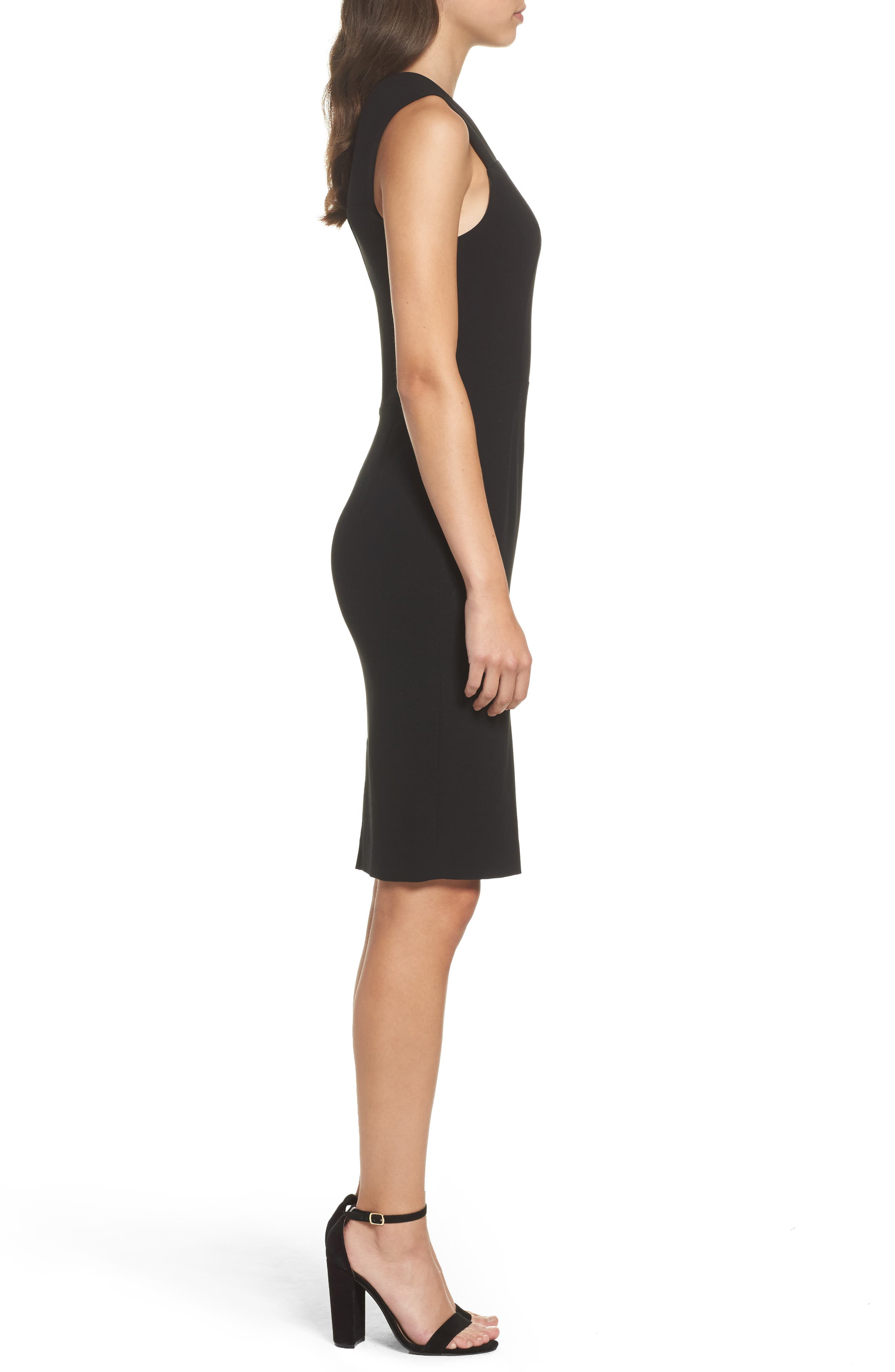 Alternate Image 3  - French Connection Whisper Ruth Off the Shoulder Sheath Dress