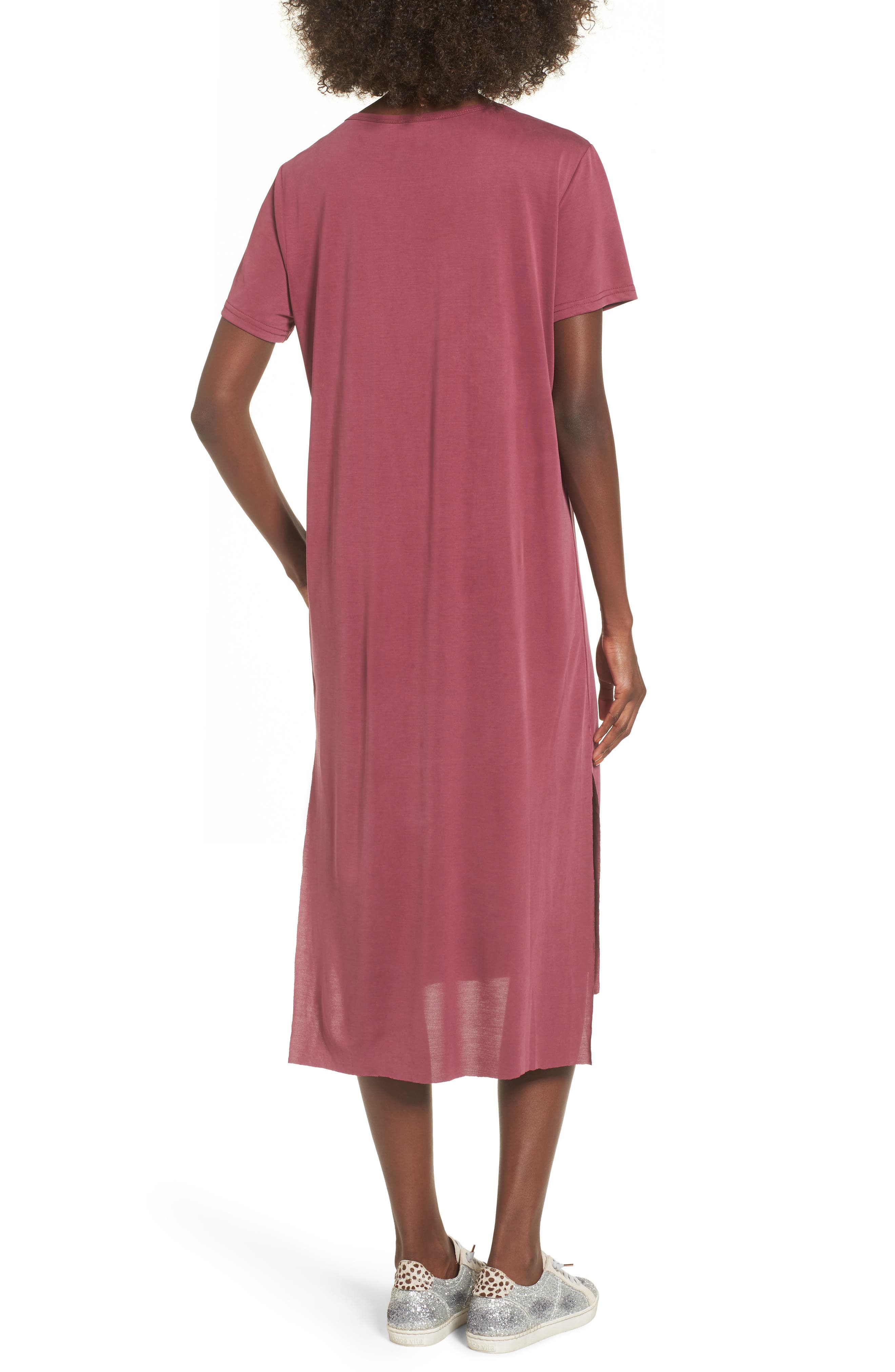 Alternate Image 2  - Lira Clothing Eden Midi T-Shirt Dress