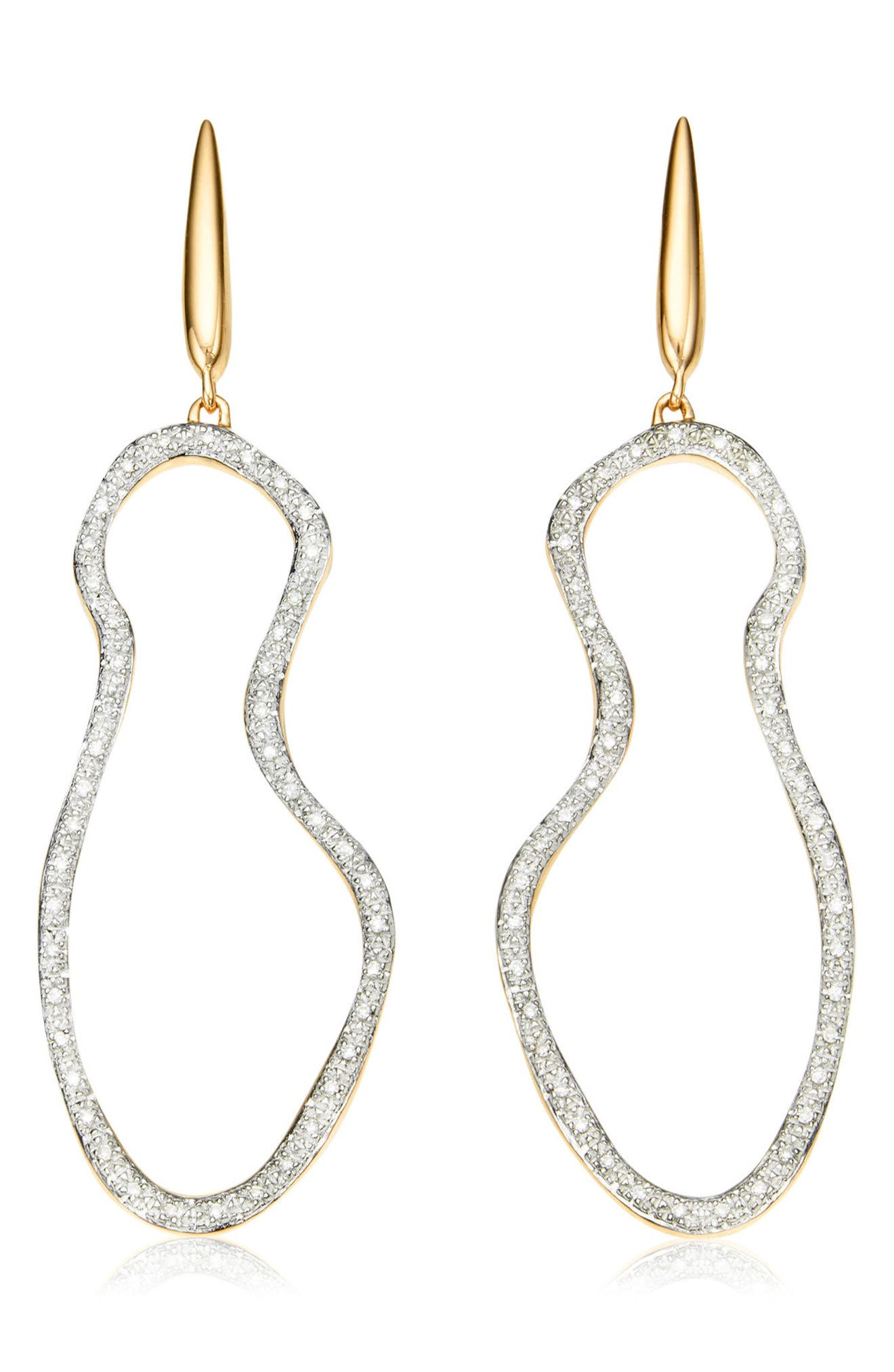 Riva Pod Cocktail Drop Earrings,                         Main,                         color, Gold