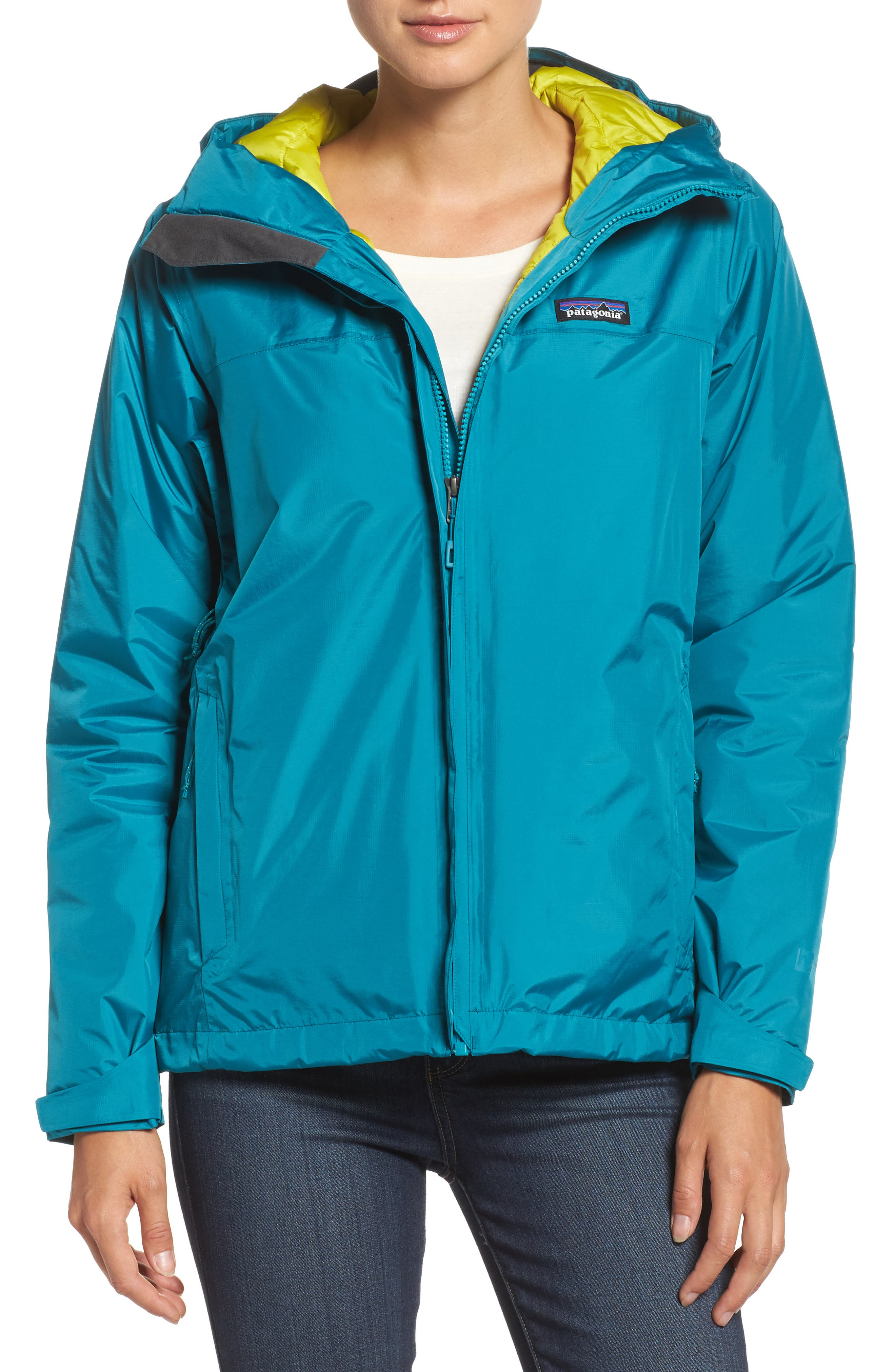 Torrentshell Packable Waterproof Insulated Jacket,                         Main,                         color, Elwha Blue