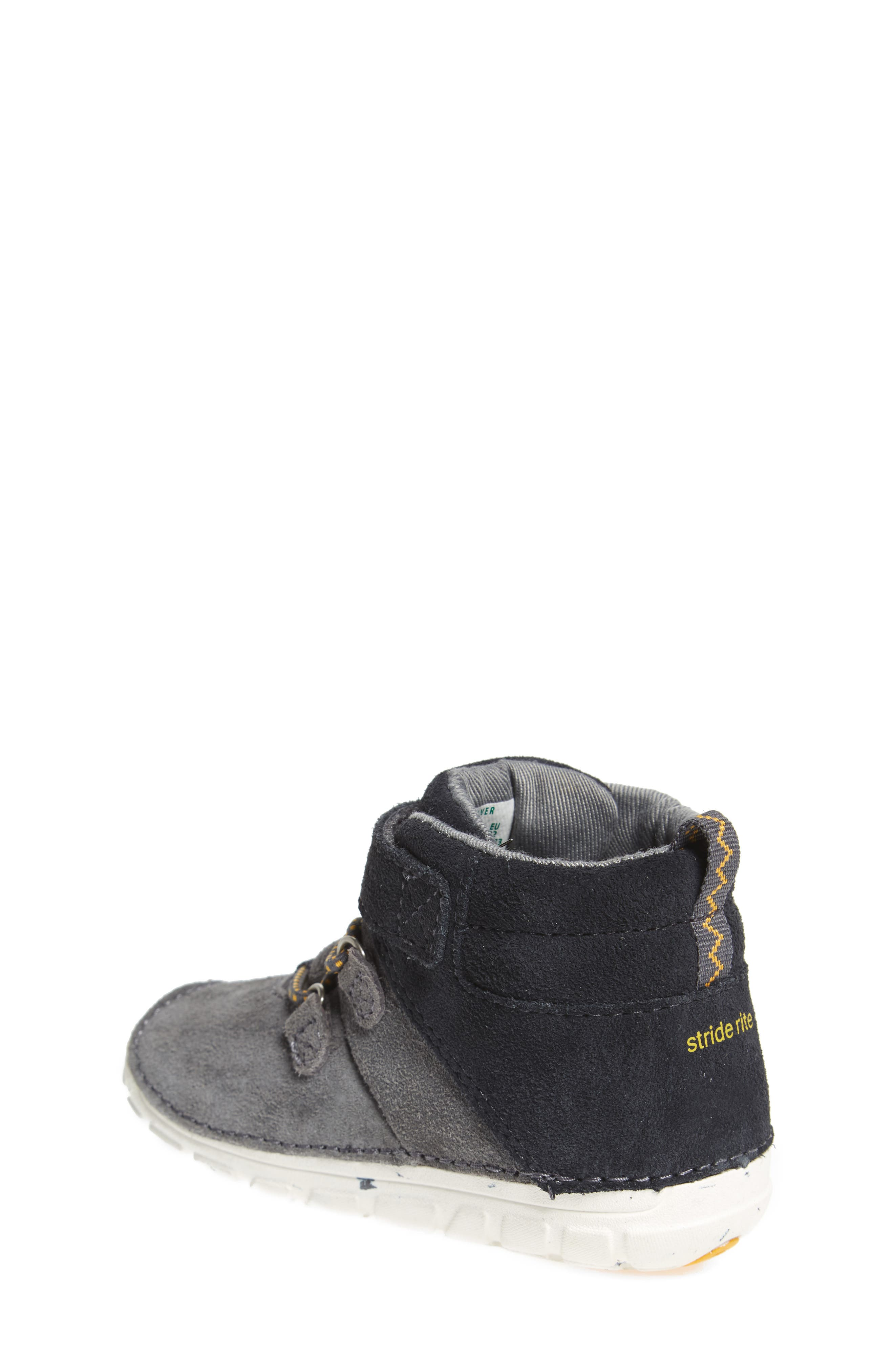 Soft Motion<sup>™</sup> Oliver High Top Sneaker,                             Alternate thumbnail 2, color,                             Grey Suede