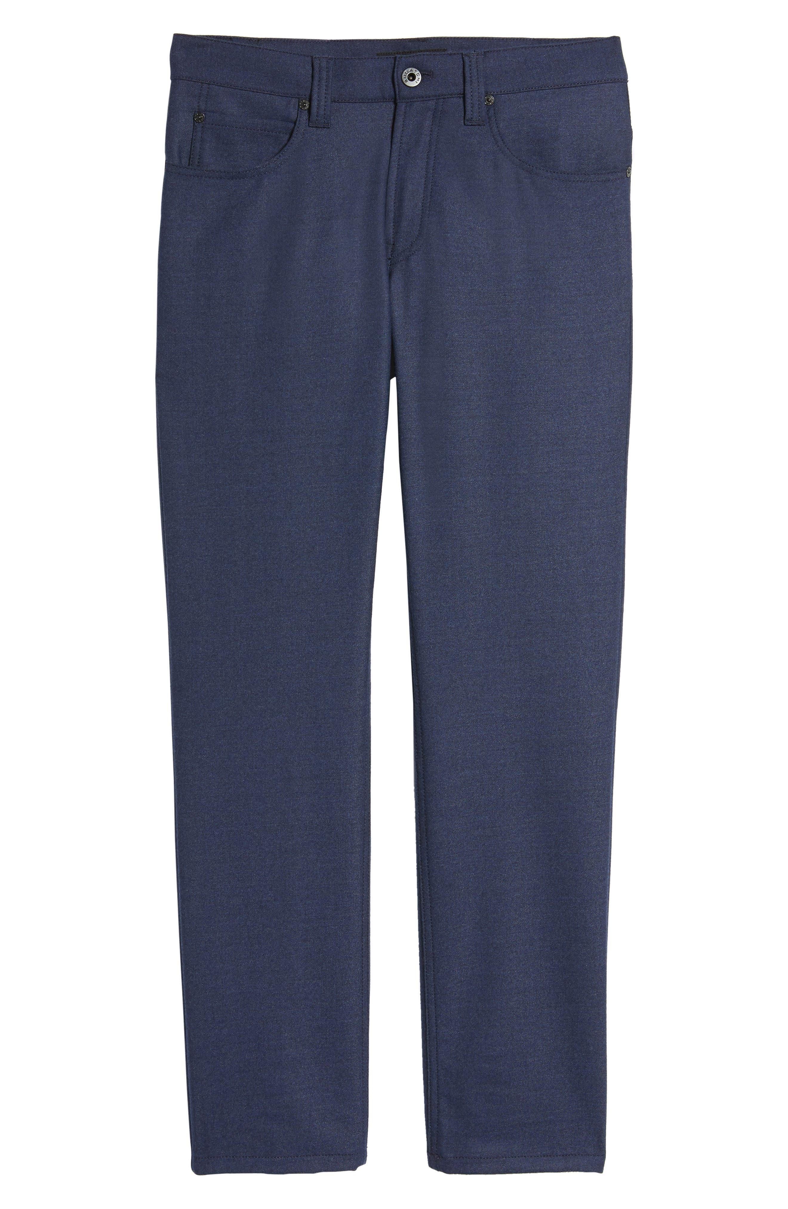 Alternate Image 6  - Bugatchi Wool Blend Pants