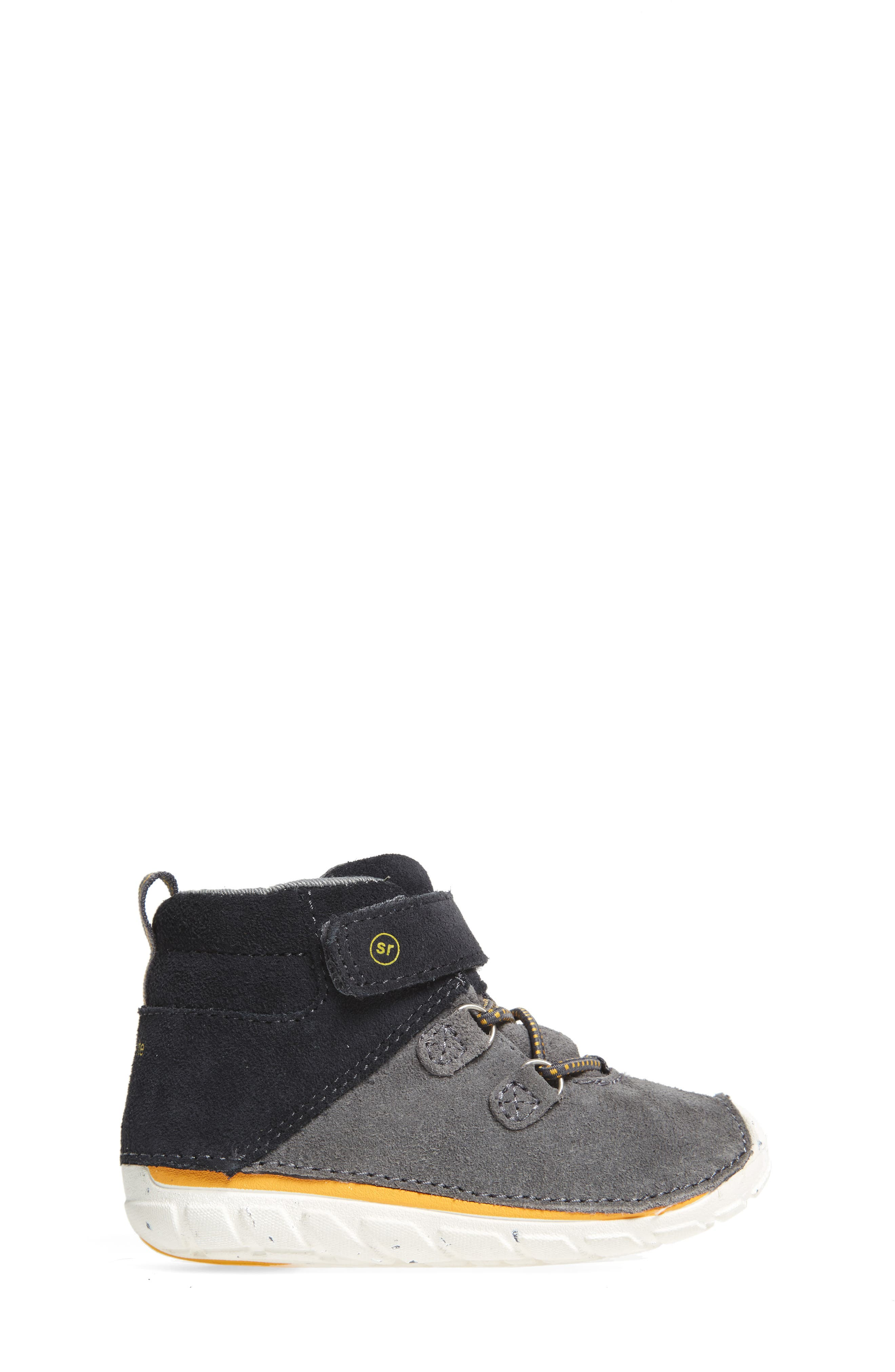 Soft Motion<sup>™</sup> Oliver High Top Sneaker,                             Alternate thumbnail 3, color,                             Grey Suede