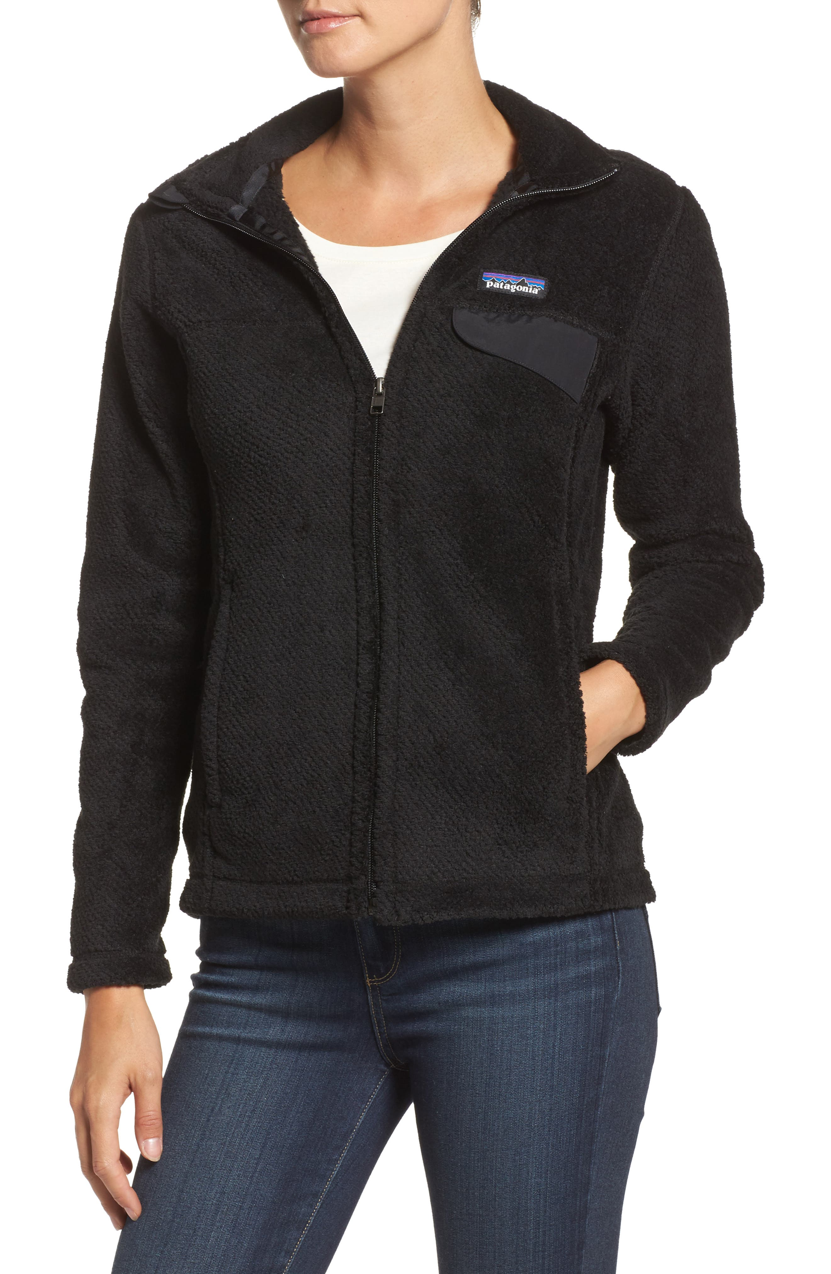 Patagonia Full Zip Re-Tool Fleece Jacket