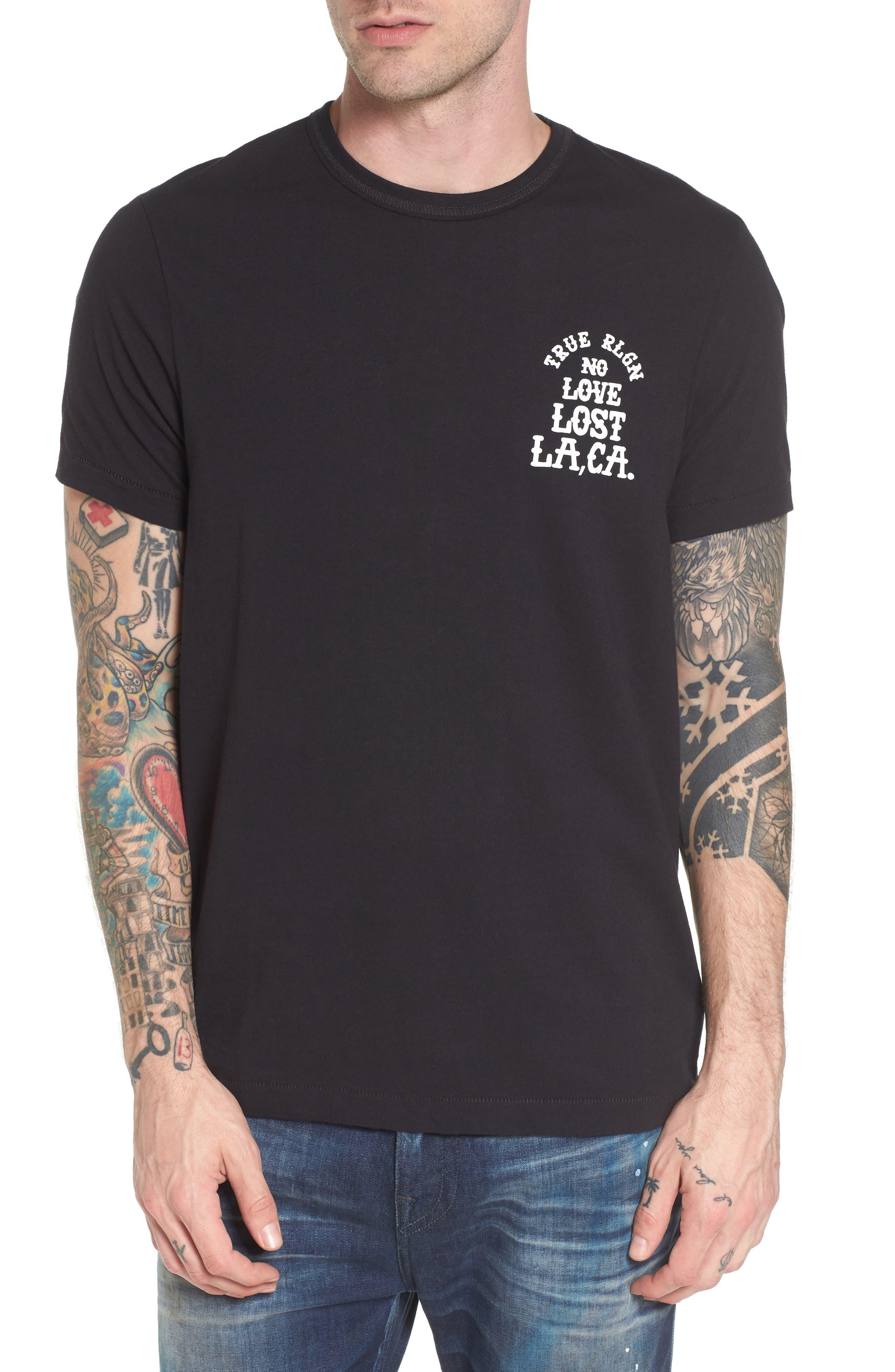 No Love Lost T-Shirt,                         Main,                         color, Black