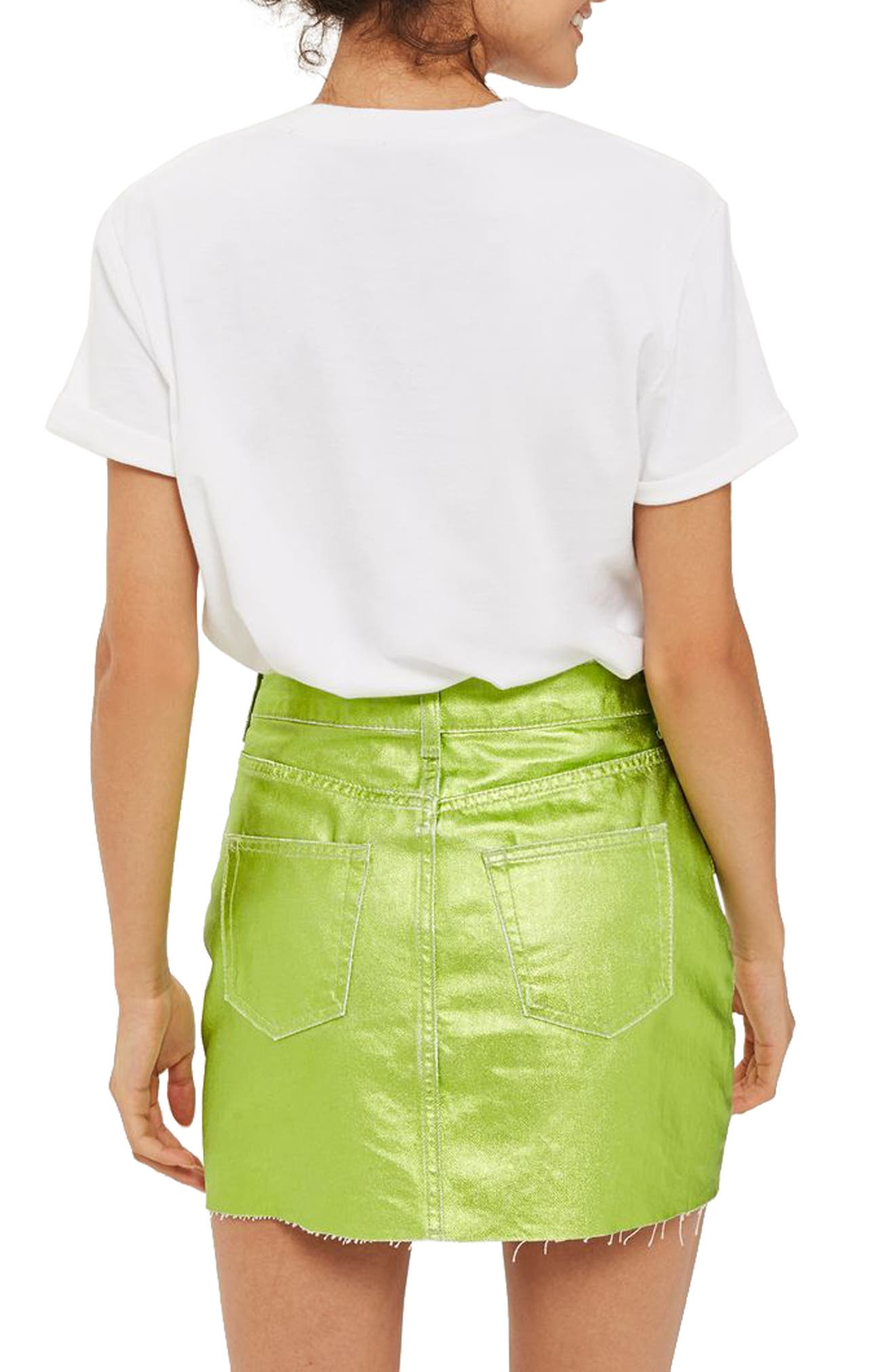 Alternate Image 2  - Topshop Amour Graphic Tee