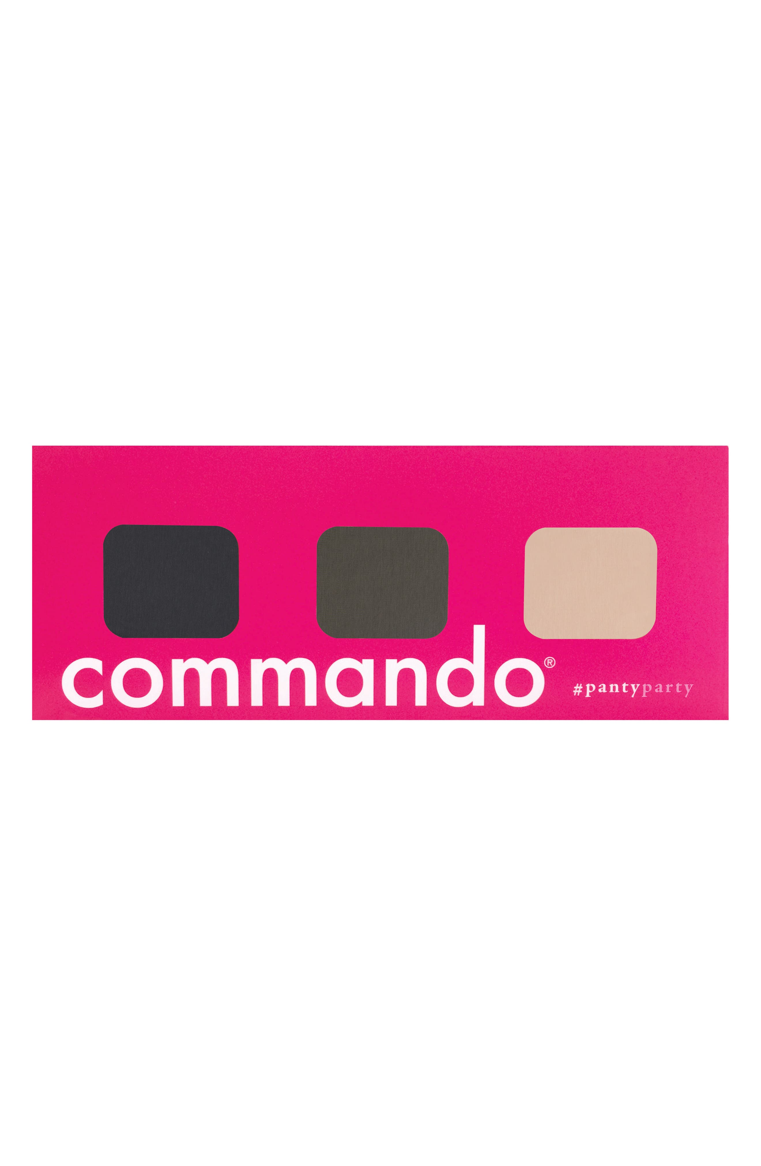 Main Image - Commando Panty Party - Butter 3-Pack Hipster Panties ($84 Value)