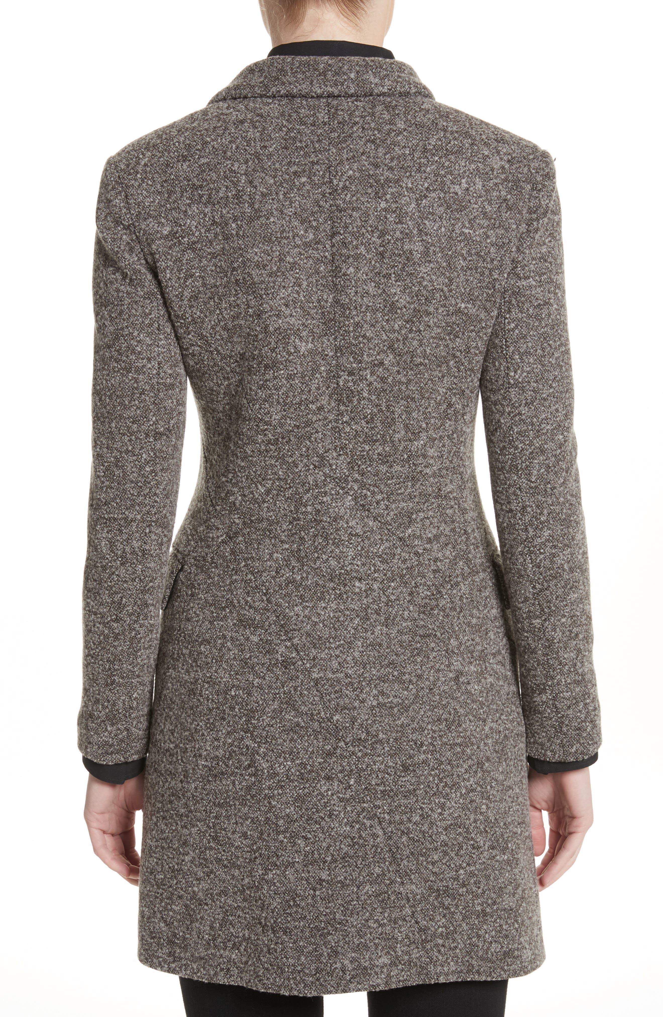 Jersey Galaxy Tweed Jacket,                             Alternate thumbnail 2, color,                             Grey