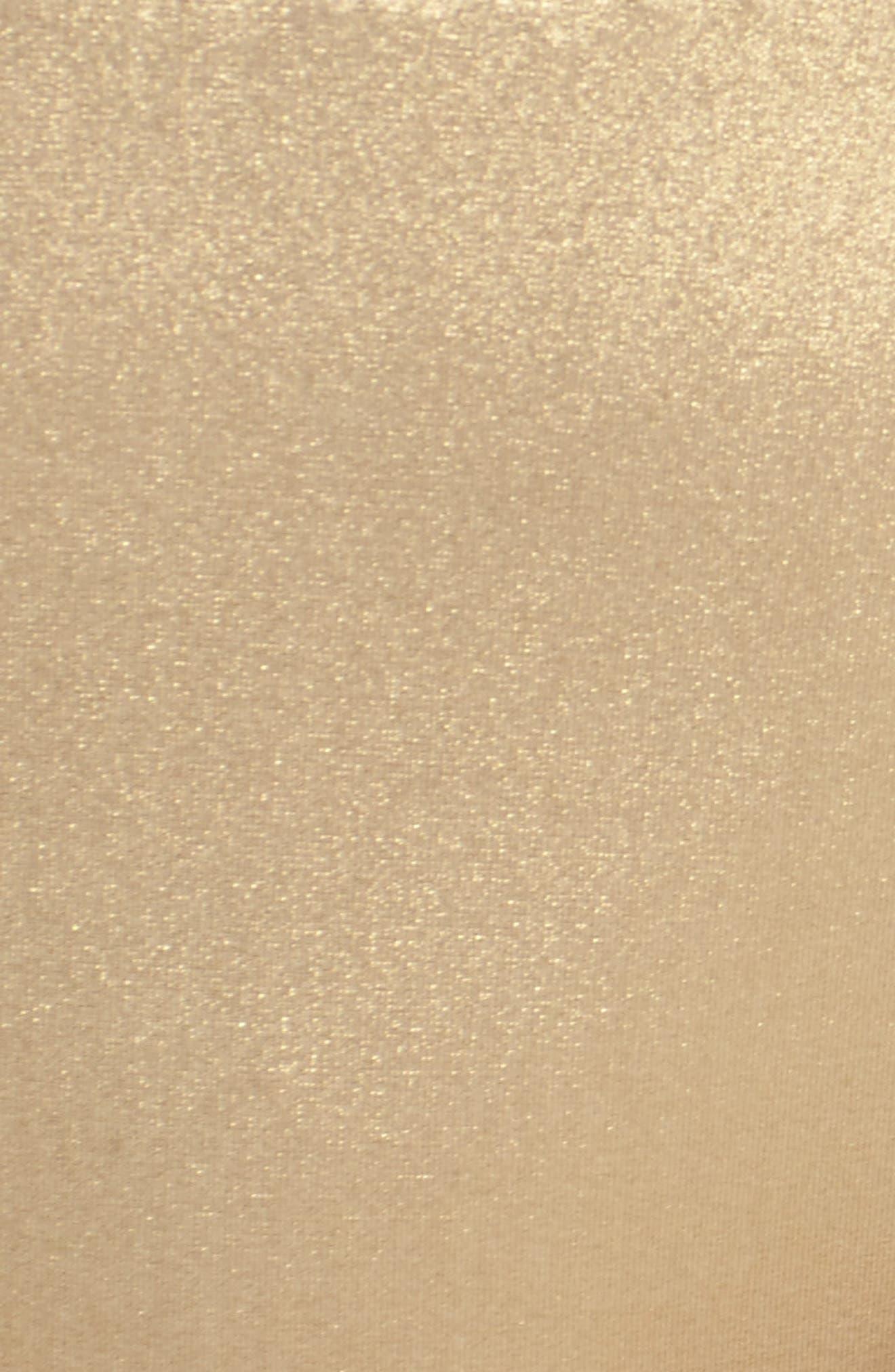 Golden Medallion Bikini Bottoms,                             Alternate thumbnail 5, color,                             Gold