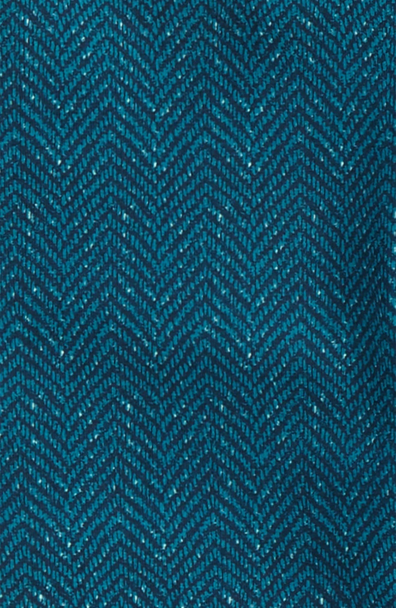 Tweed Print Leggings,                             Alternate thumbnail 2, color,                             River Green