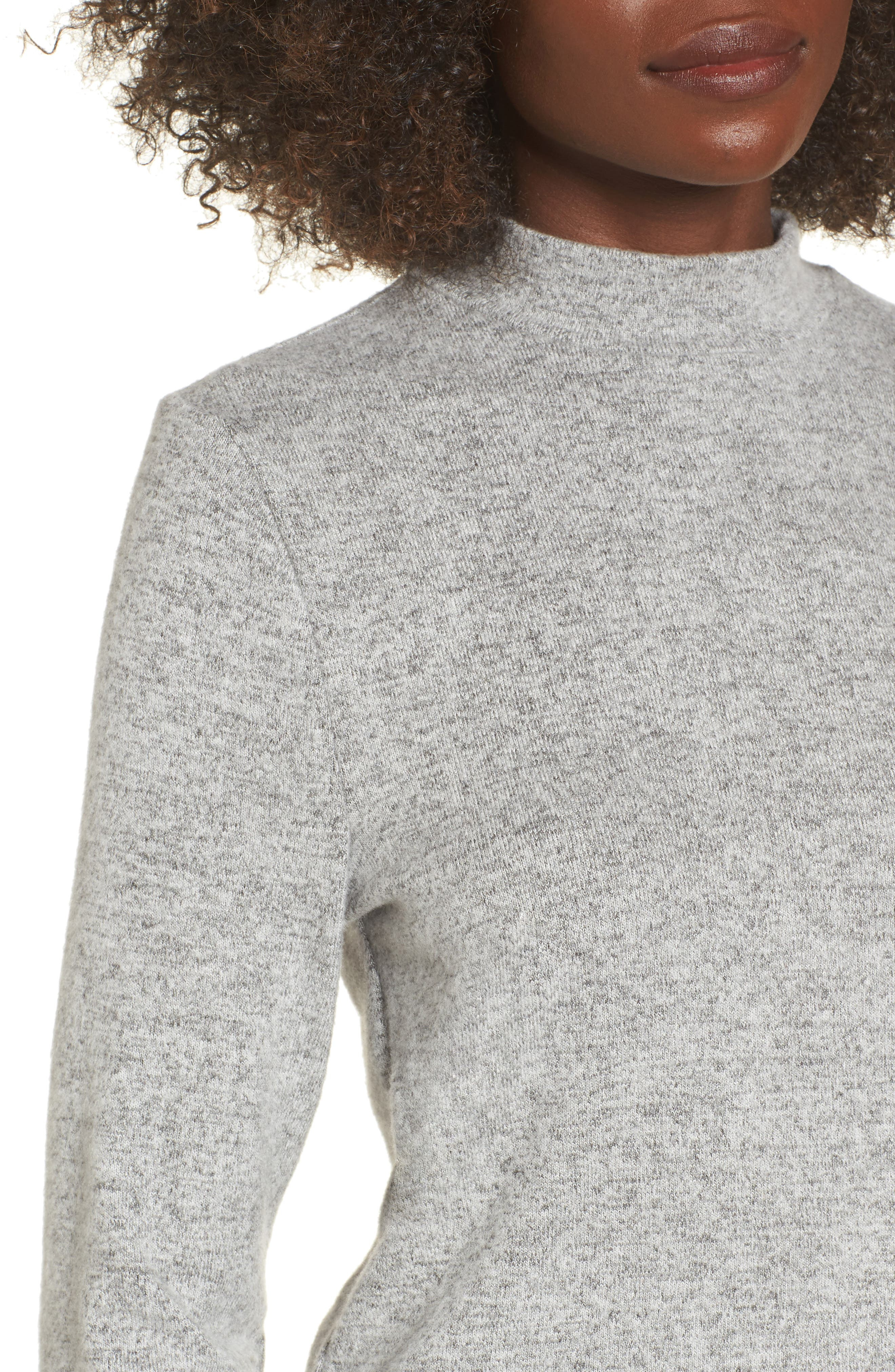 Alternate Image 4  - PST by Project Social T Crop Mock Neck Top