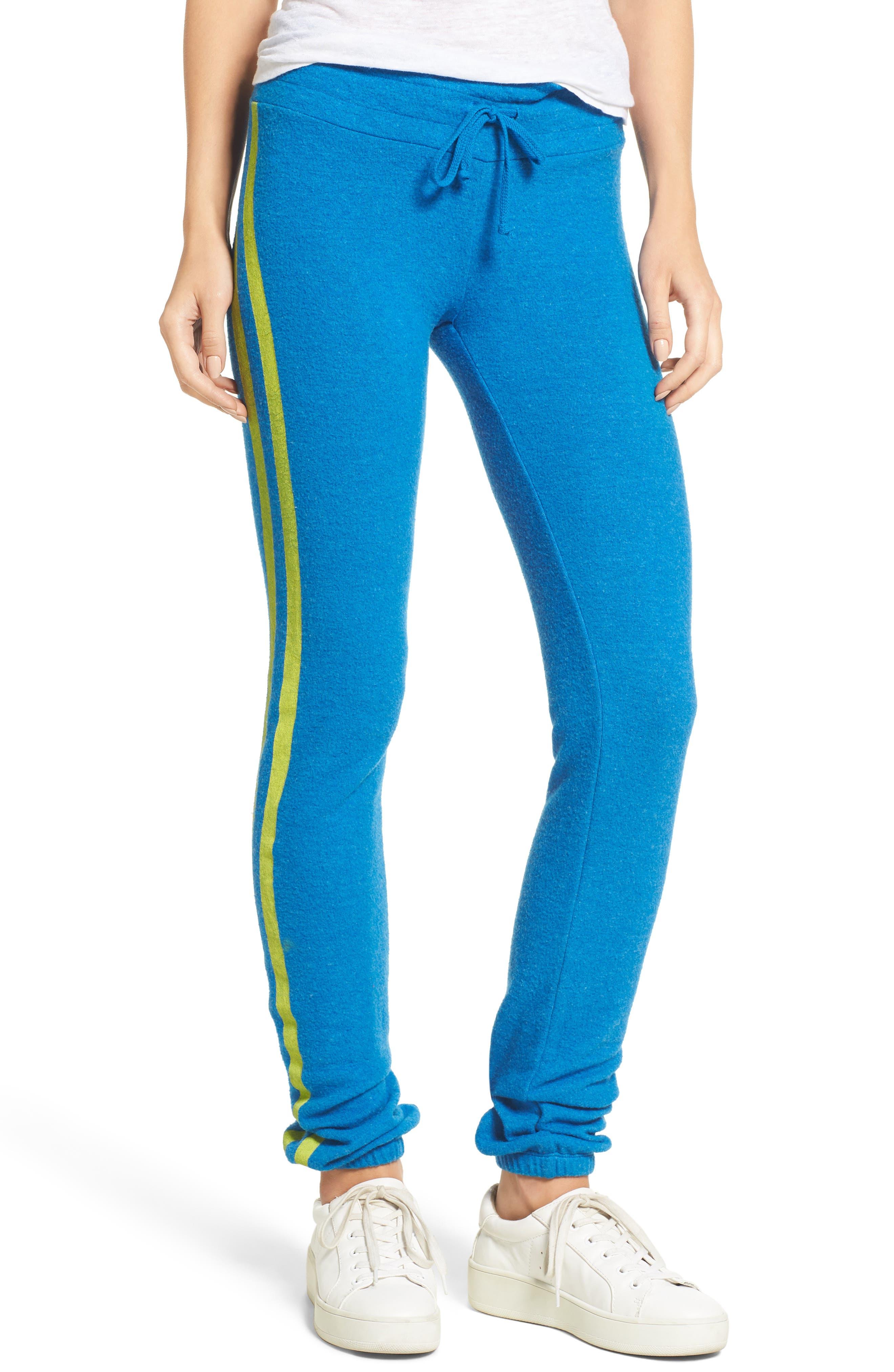 Main Image - Dream Scene Sporty Stripe Track Pants