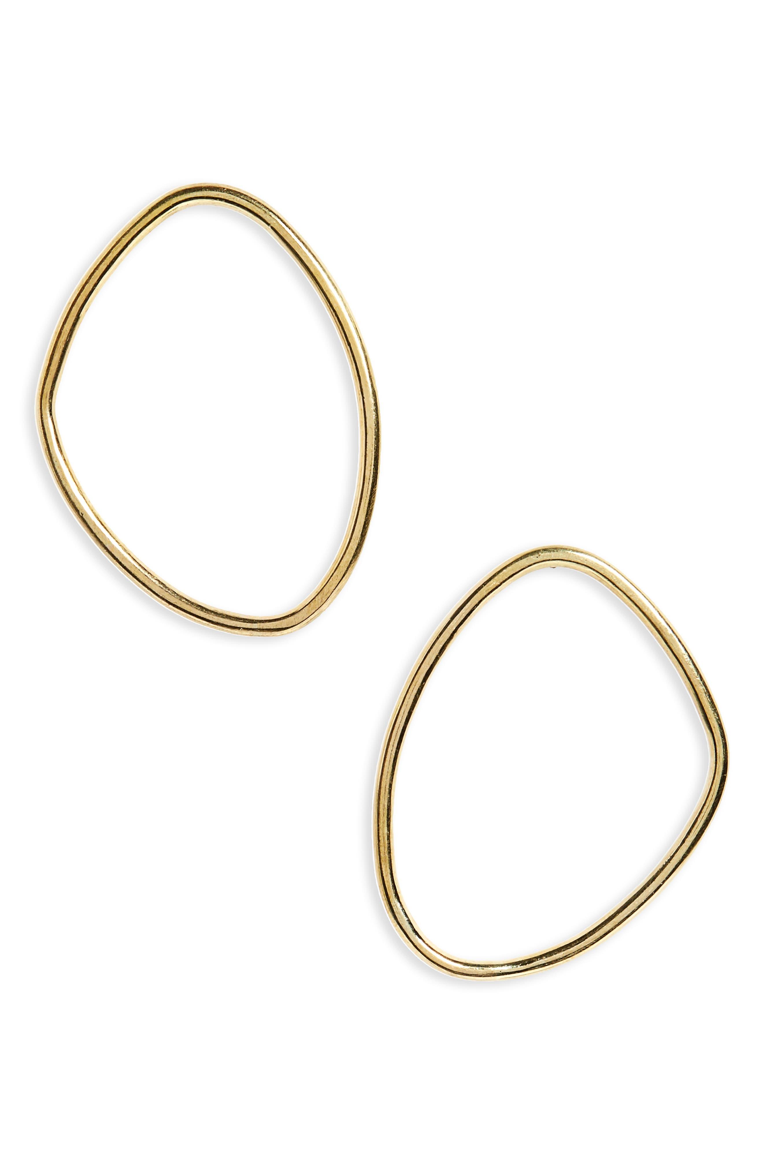 Soko Sabi Outline Large Stud Earrings