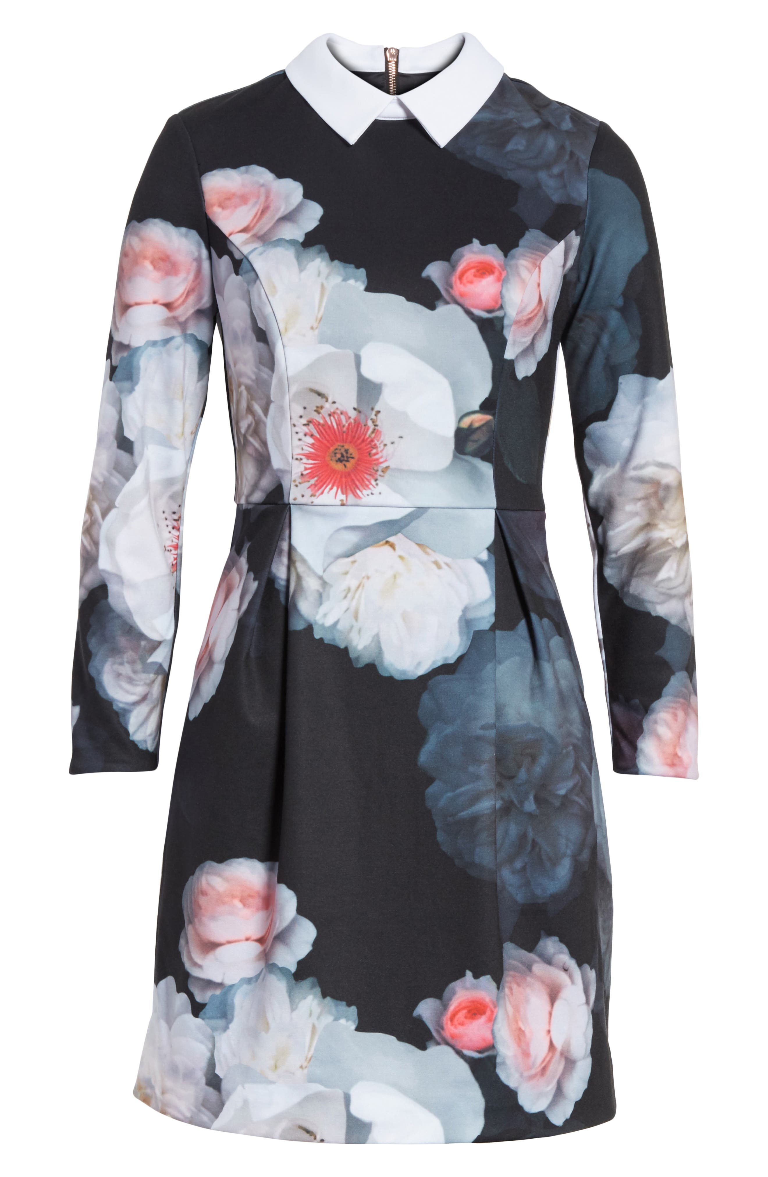 Alternate Image 6  - Ted Baker London Kaleesa Chelsea Flower Collar Dress