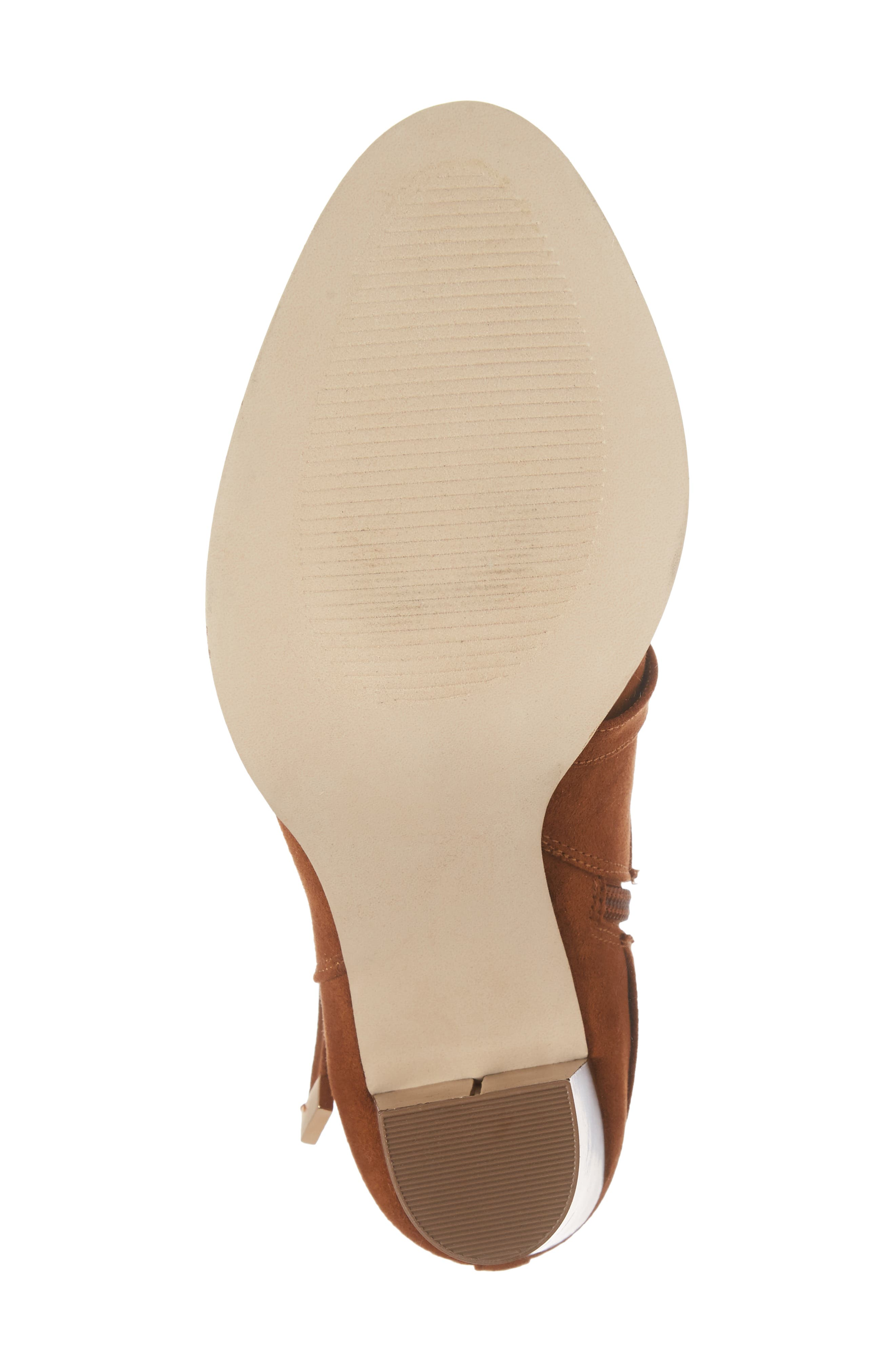 Renly Bootie,                             Alternate thumbnail 6, color,                             Tan Suede