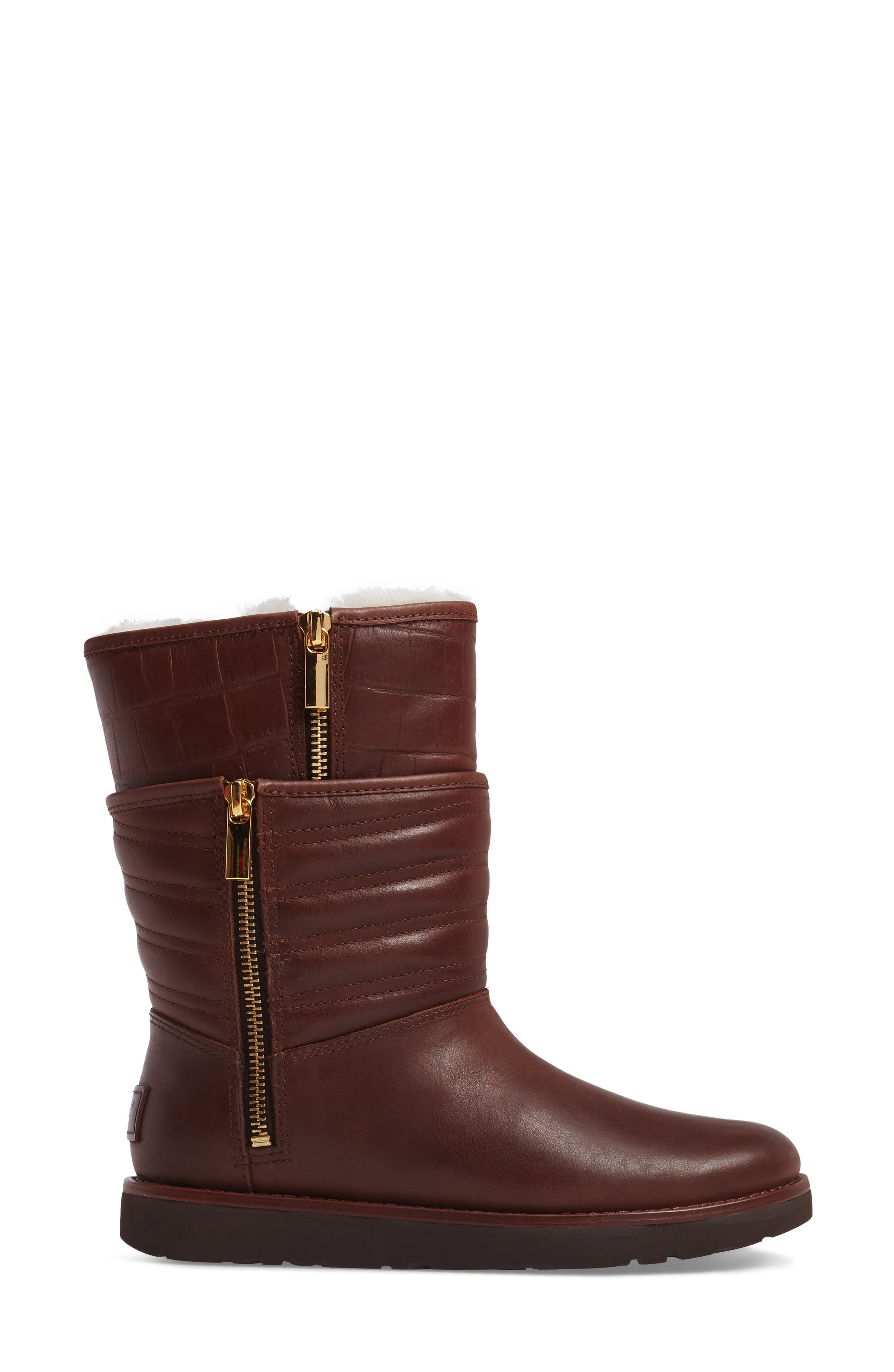 Alternate Image 3  - UGG® Aviva Genuine Shearling Lined Boot (Women)