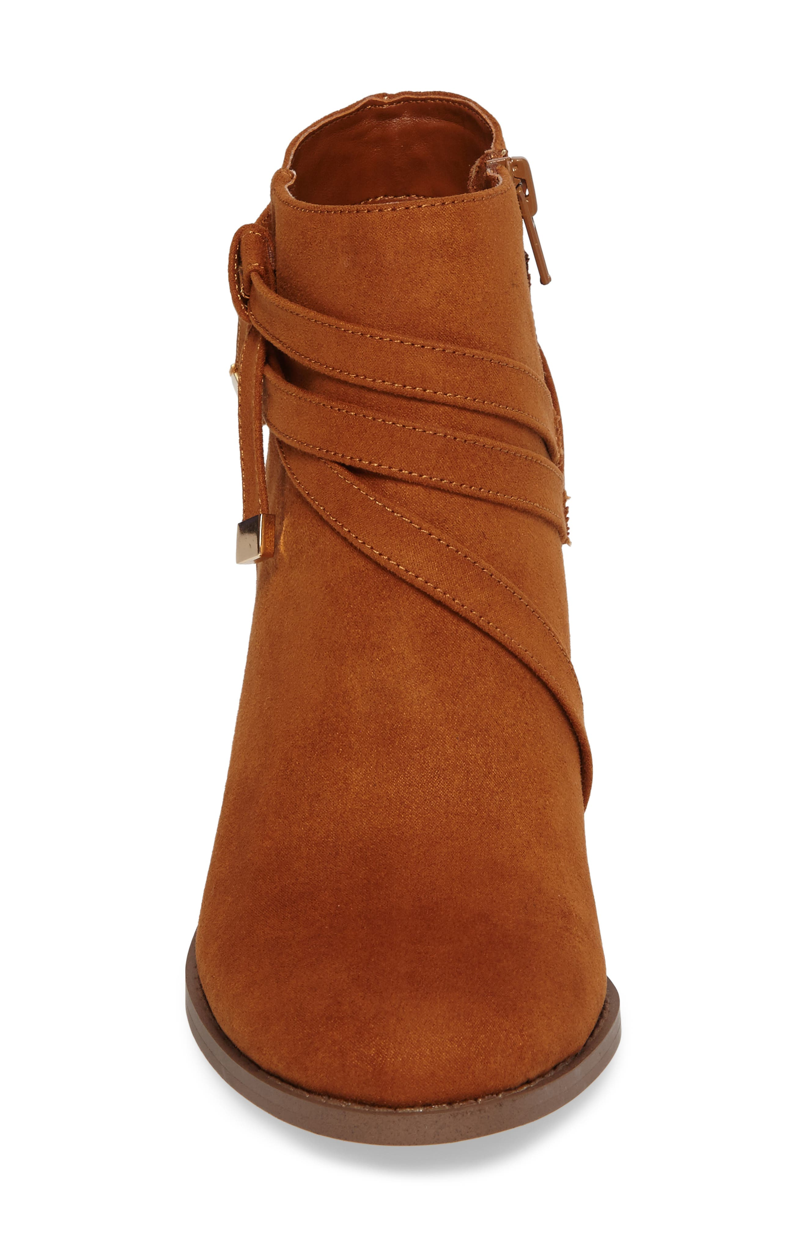 Renly Bootie,                             Alternate thumbnail 4, color,                             Tan Suede