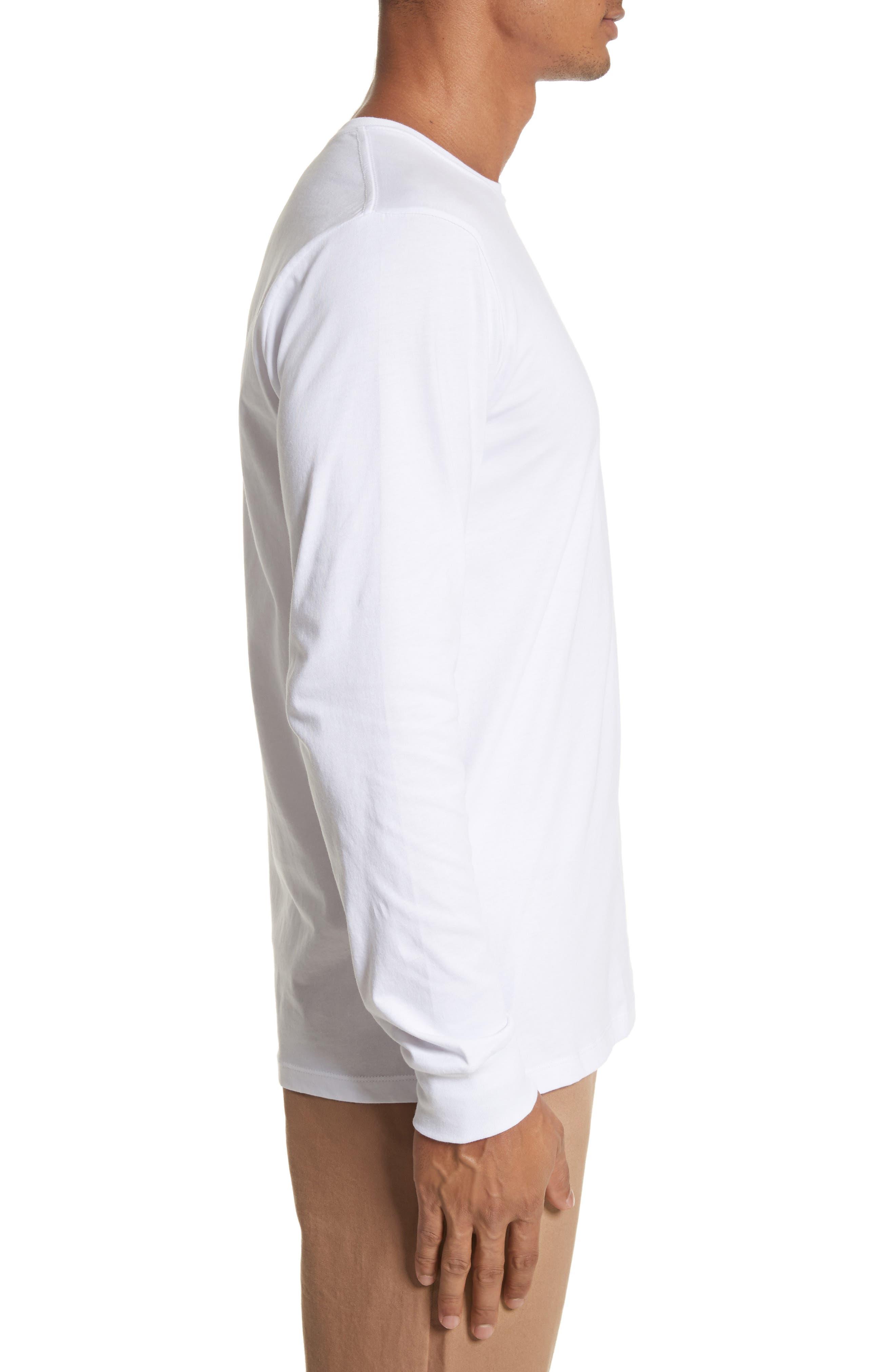 Alternate Image 3  - Saturdays NYC Stacked Logo Graphic Long Sleeve T-Shirt