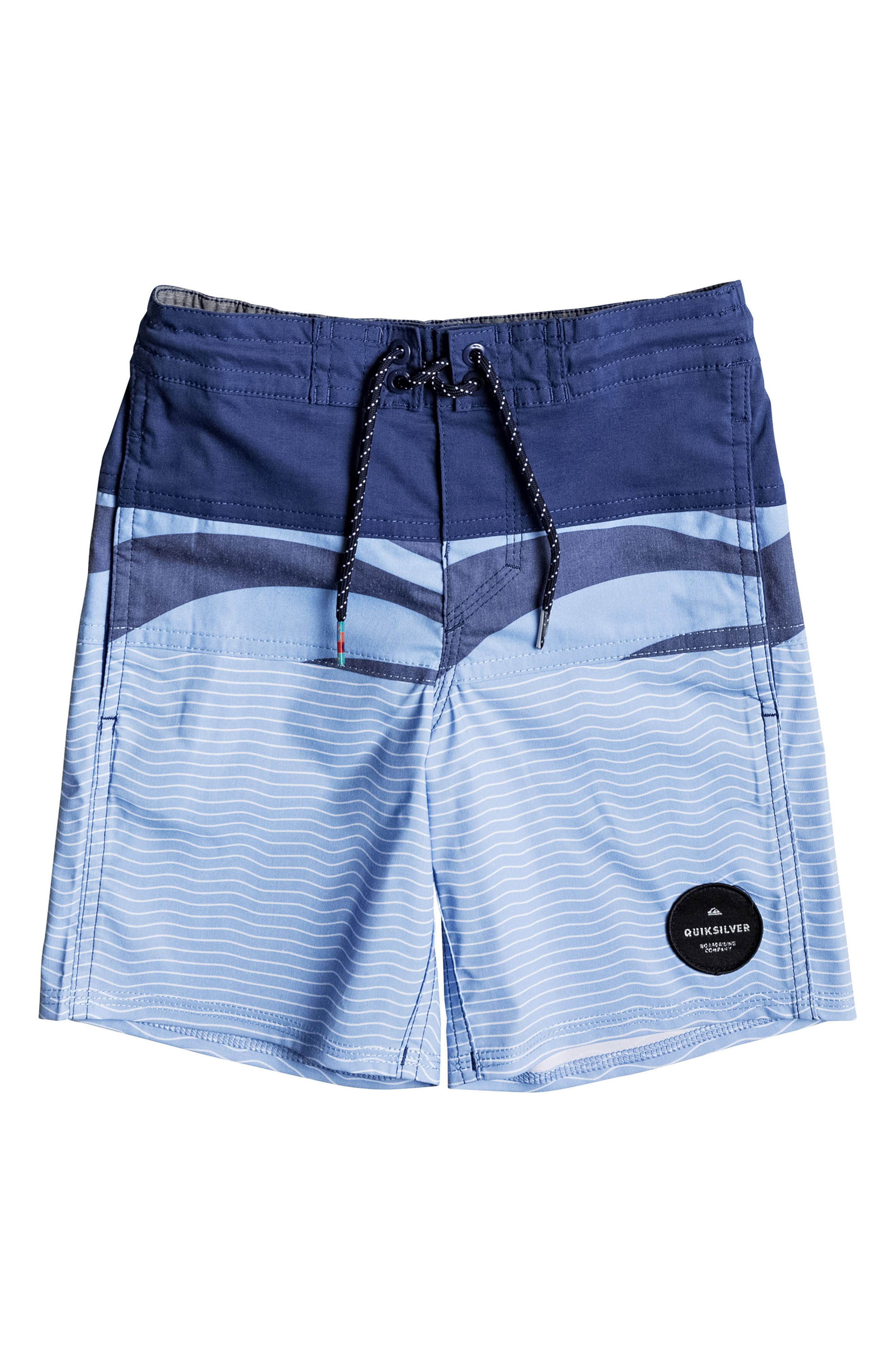 Heatwave Blocked Board Shorts,                         Main,                         color, Estate Blue