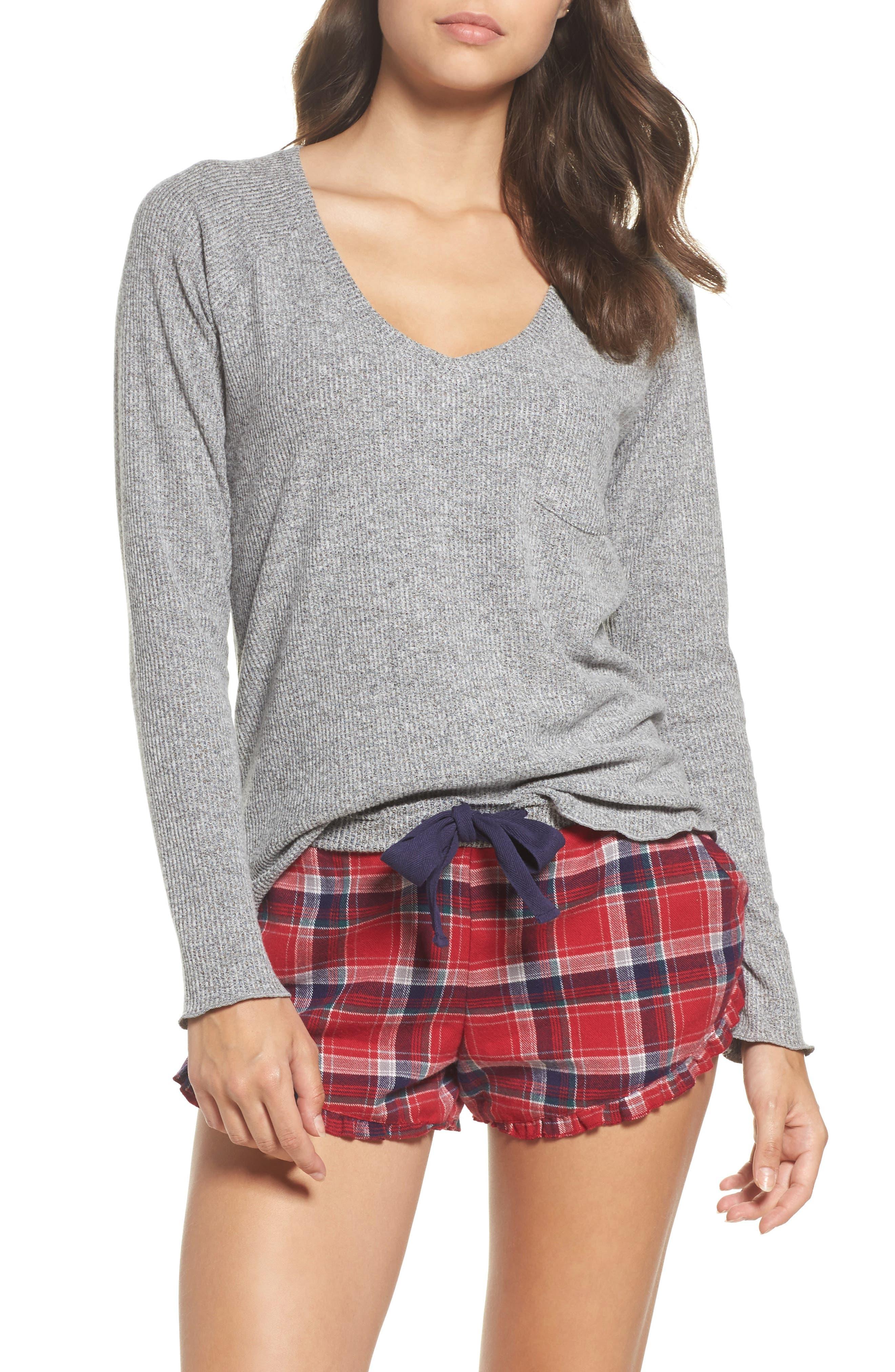 Raglan Tee,                         Main,                         color, Grey Flannel Marl