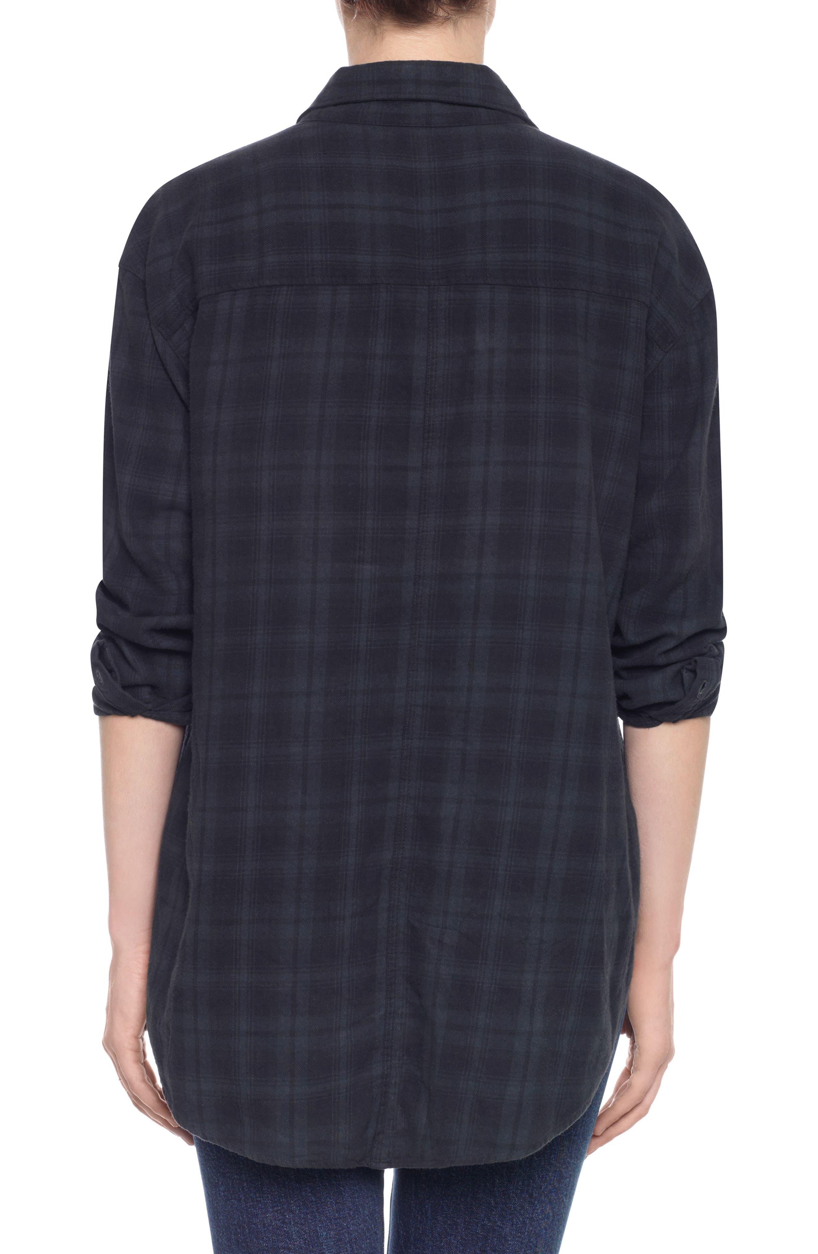 Alternate Image 2  - Taylor Hill x Joe's Boyfriend Flannel Shirt