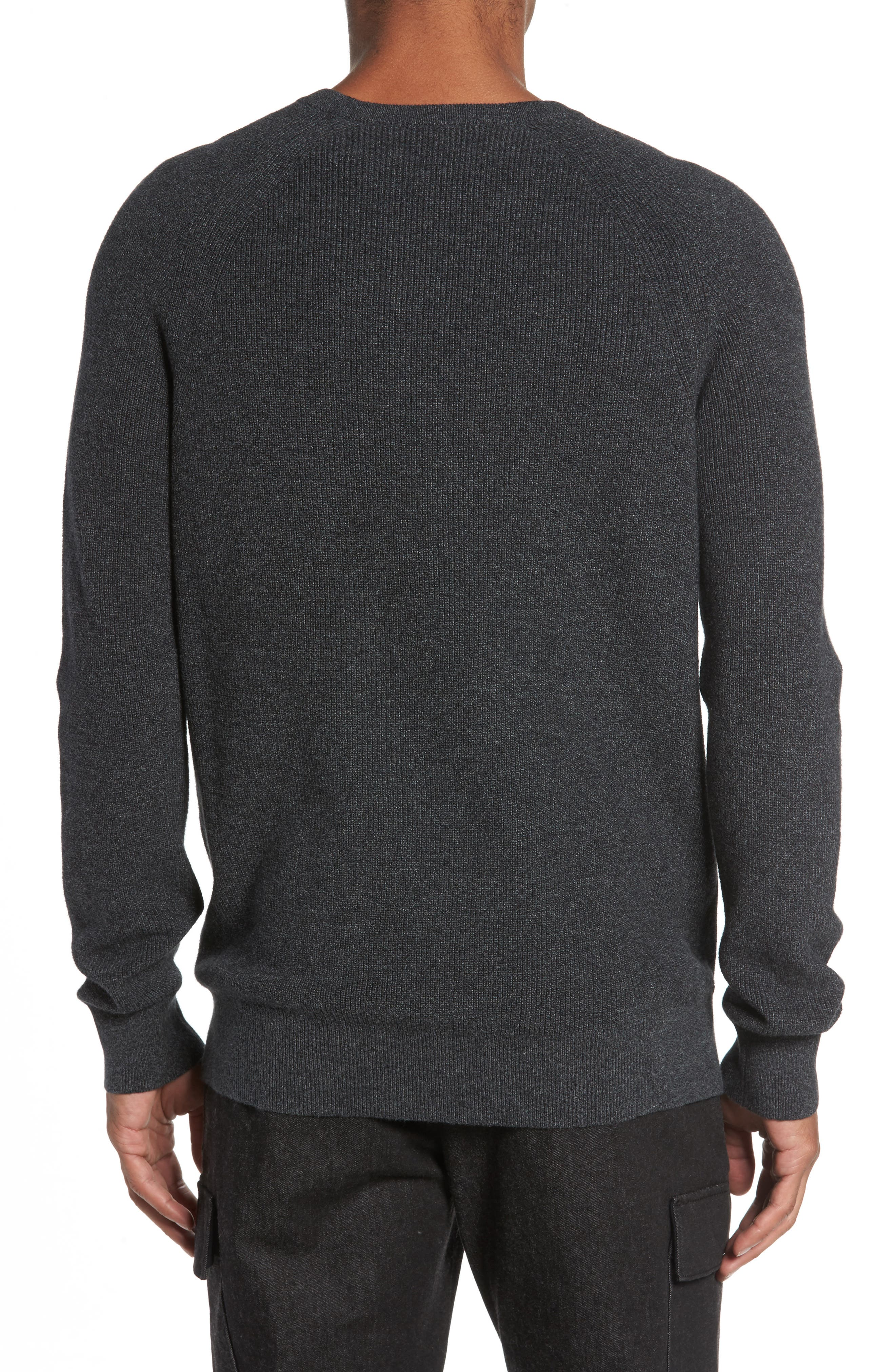 Alternate Image 2  - French Connection Ribbed Crewneck Sweater