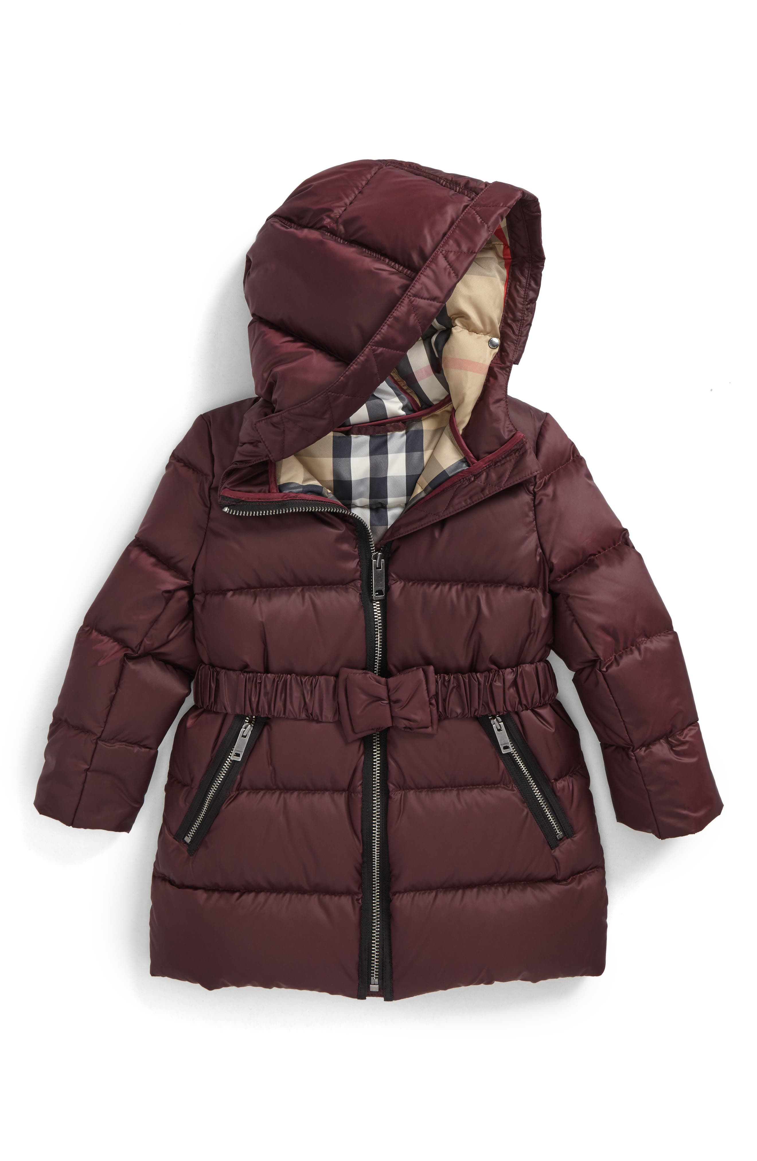 Burberry Consillia Down Parka (Toddler Girls)