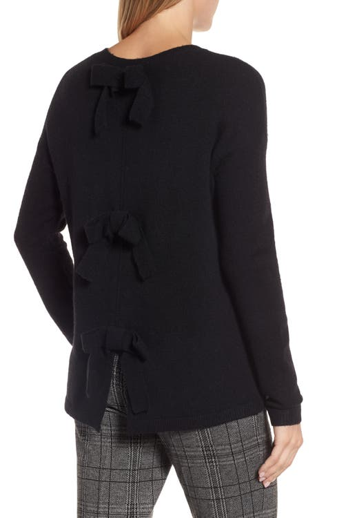 Main Image - Halogen® Bow Back Sweater