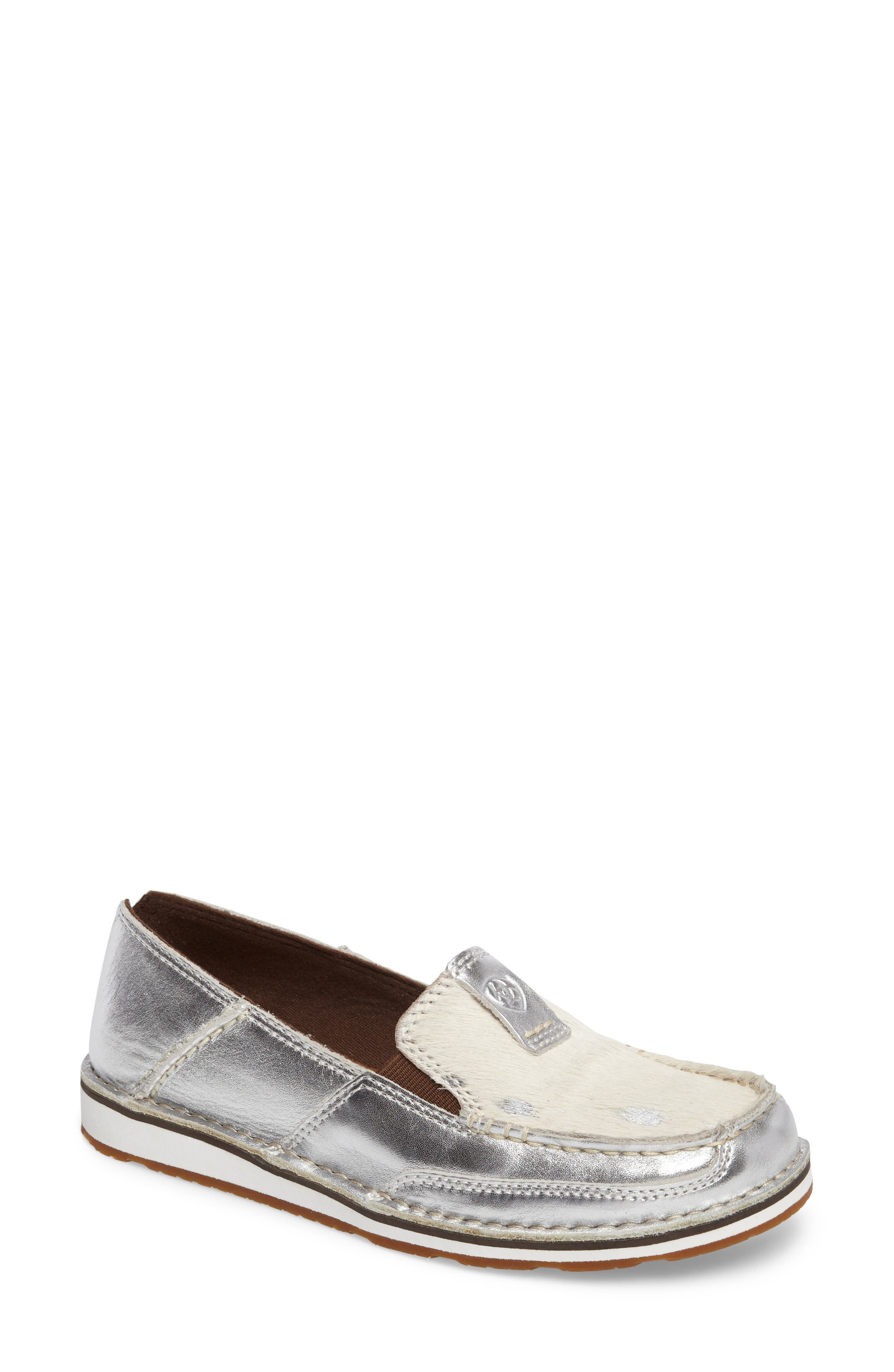 Alternate Image 1 Selected - Ariat Cruiser Genuine Calf Hair Slip-On Loafer (Women)