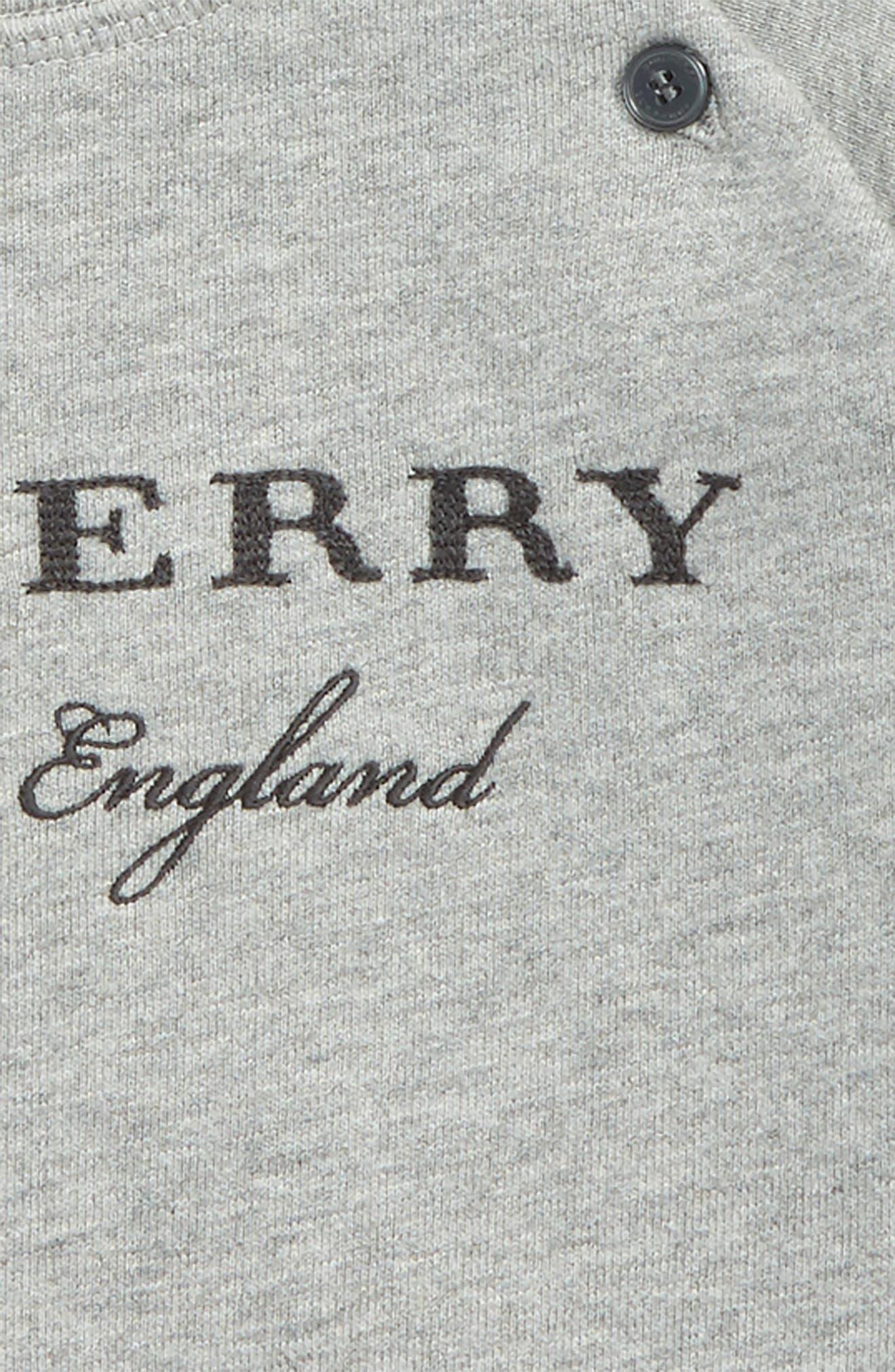 Stanley Logo Sweatshirt,                             Alternate thumbnail 2, color,                             Grey Melange