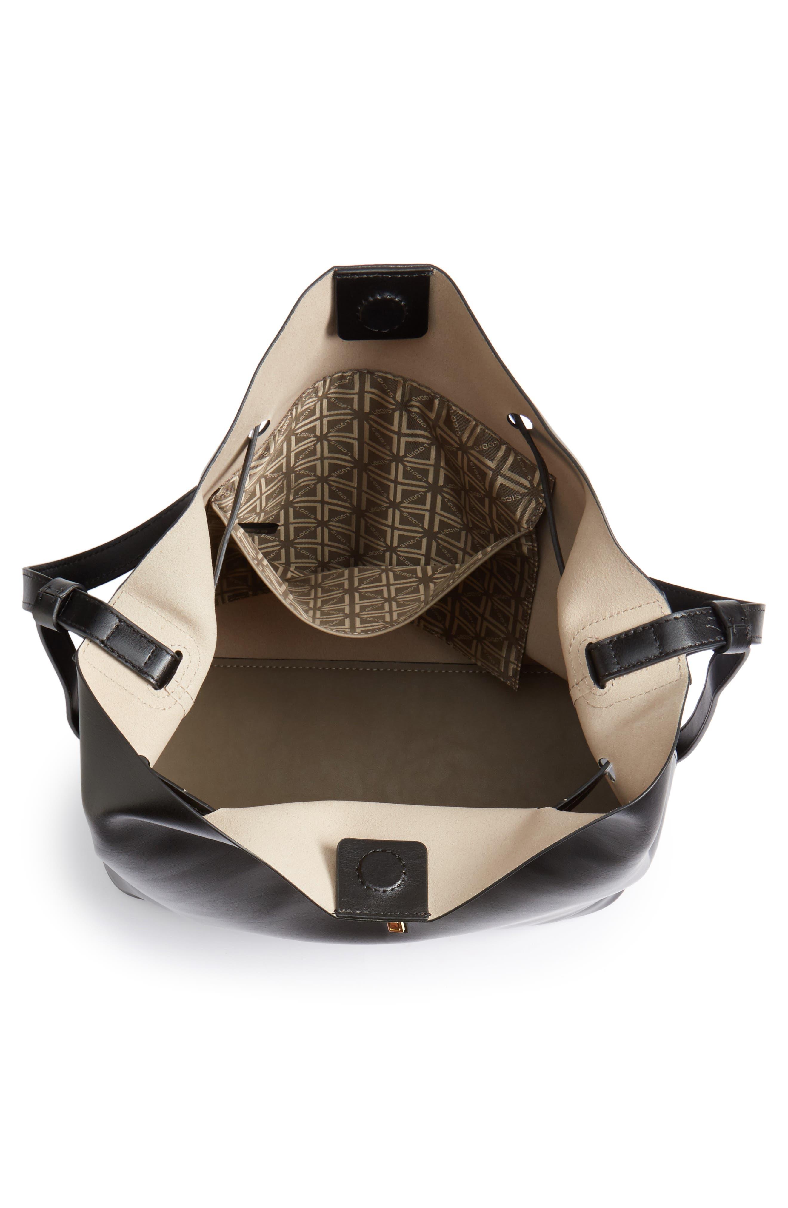 Alternate Image 4  - Lodis Silicon Valley Large Halina Leather Bucket Bag