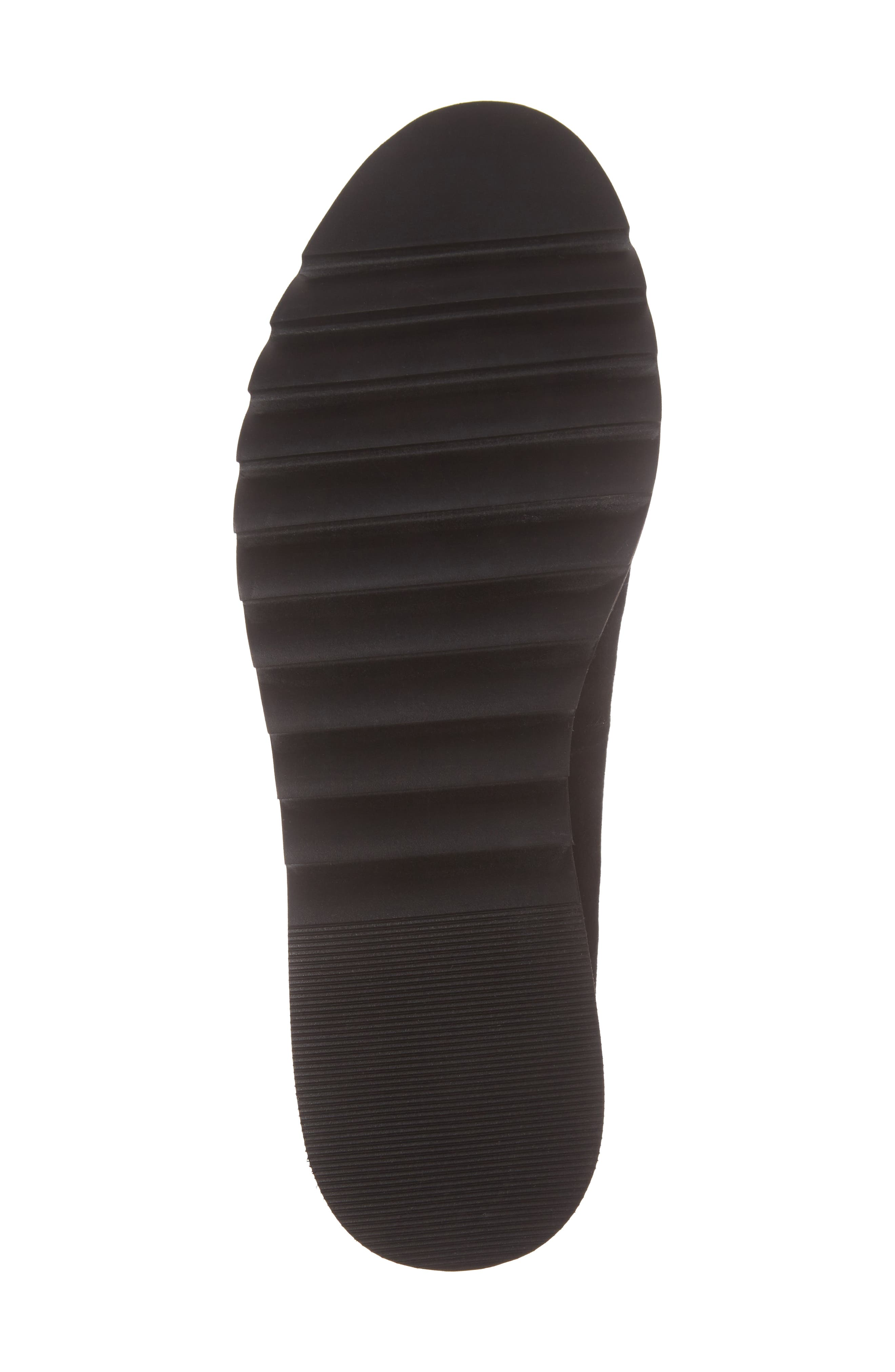 Kendall Loafer,                             Alternate thumbnail 6, color,                             Black Suede