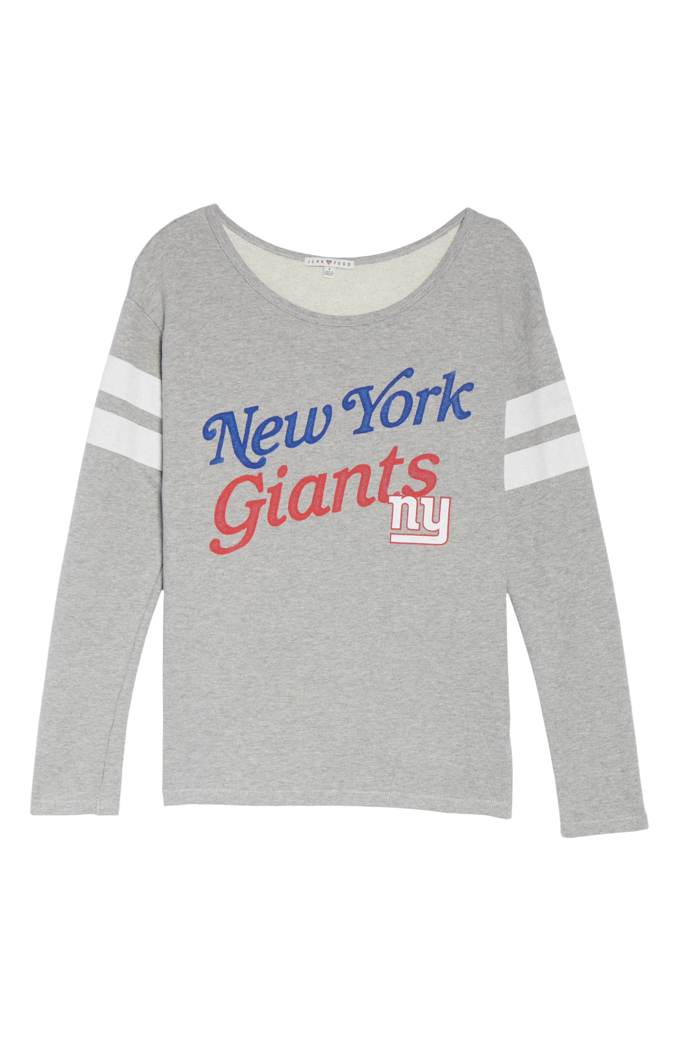 NFL New York Giants Champion Sweatshirt,                             Alternate thumbnail 4, color,                             Grey
