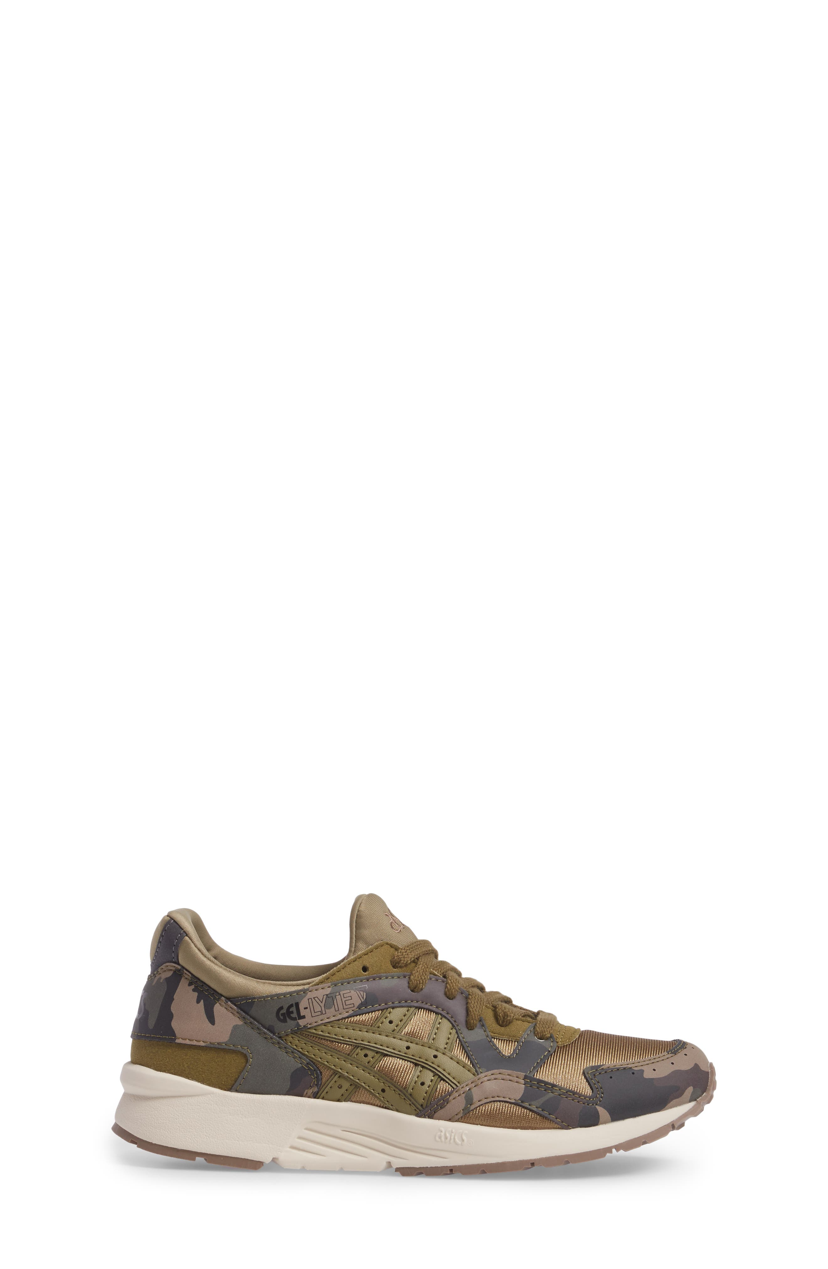 GEL-LYTE<sup>®</sup> V GS Sneaker,                             Alternate thumbnail 3, color,                             Martini Olive/ Martini Olive
