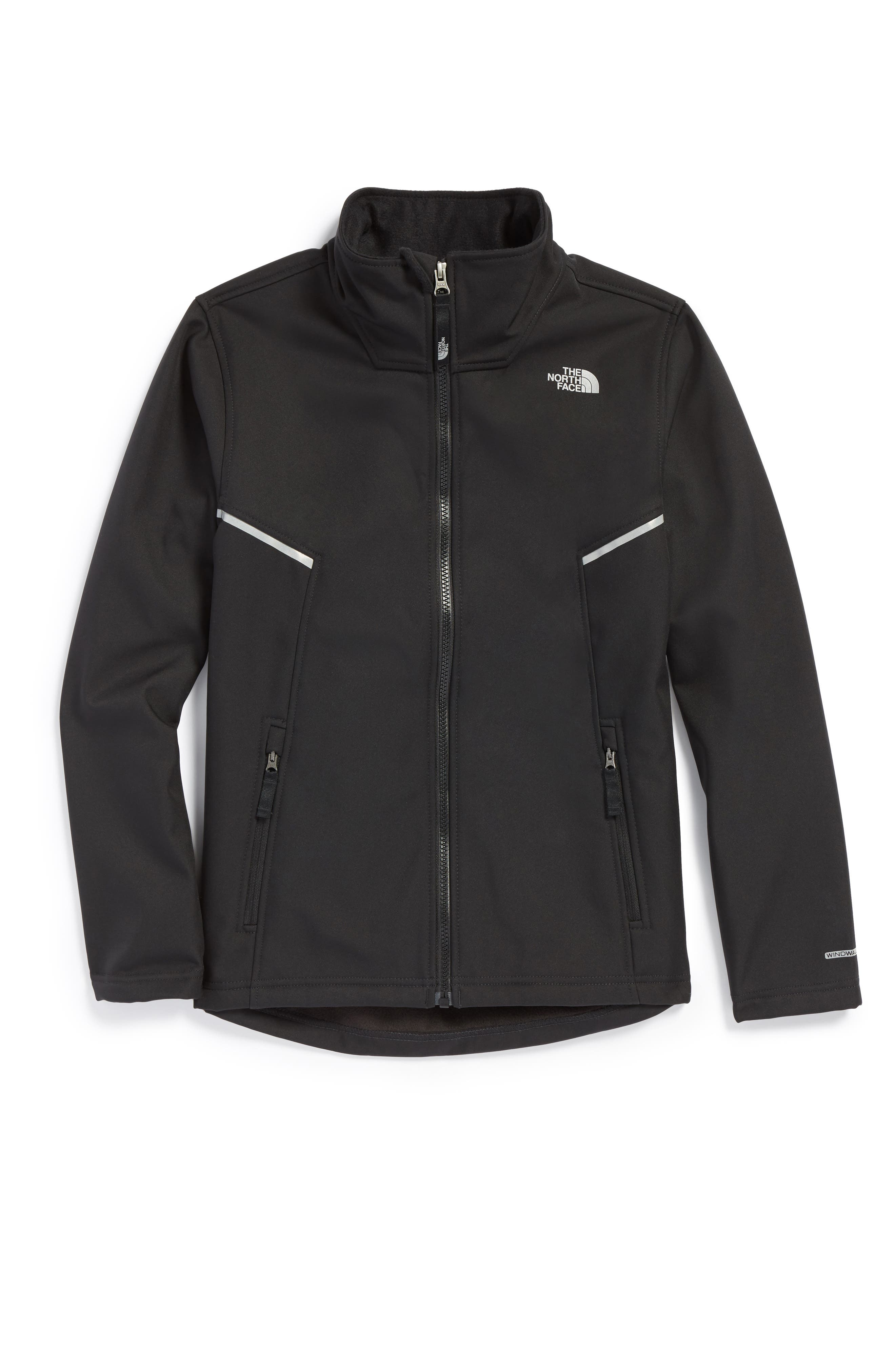 Main Image - The North Face Apex Bionic Water Repellent Jacket (Big Boys)