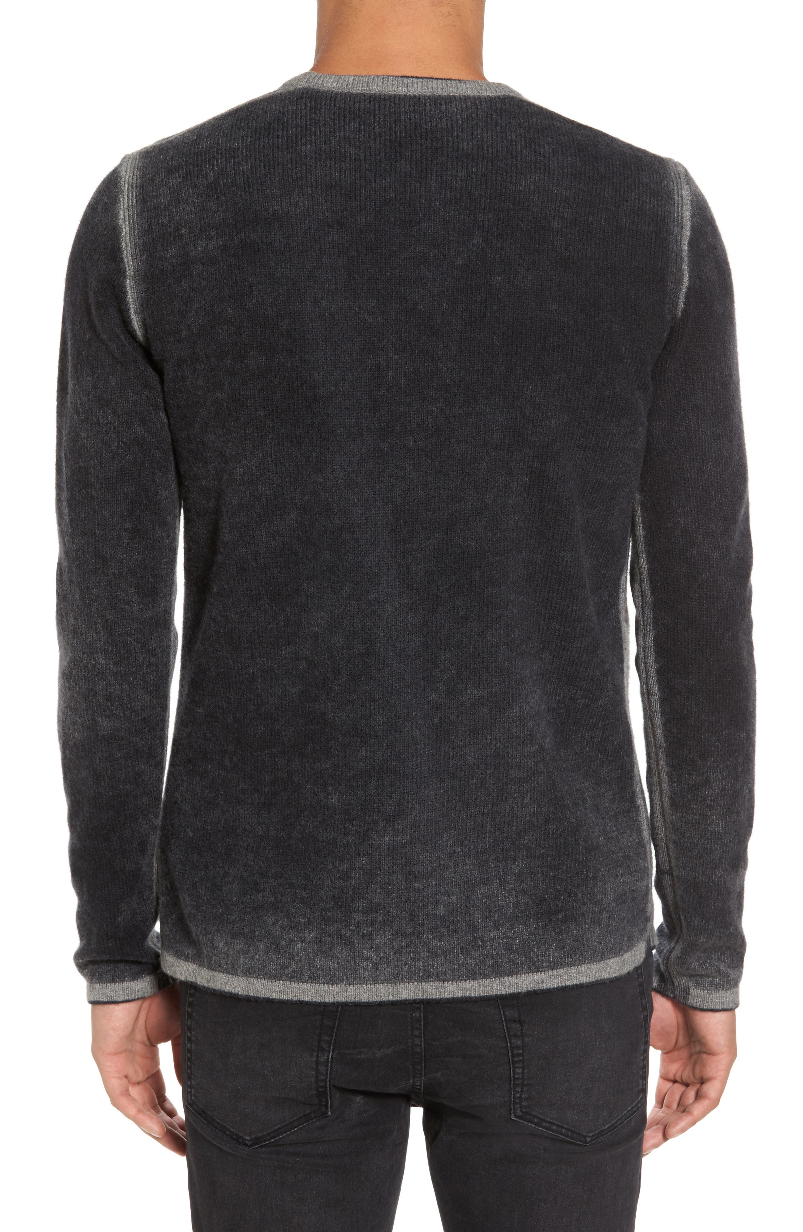 Alternate Image 2  - John Varvatos Star USA Drop Shoulder Sweater