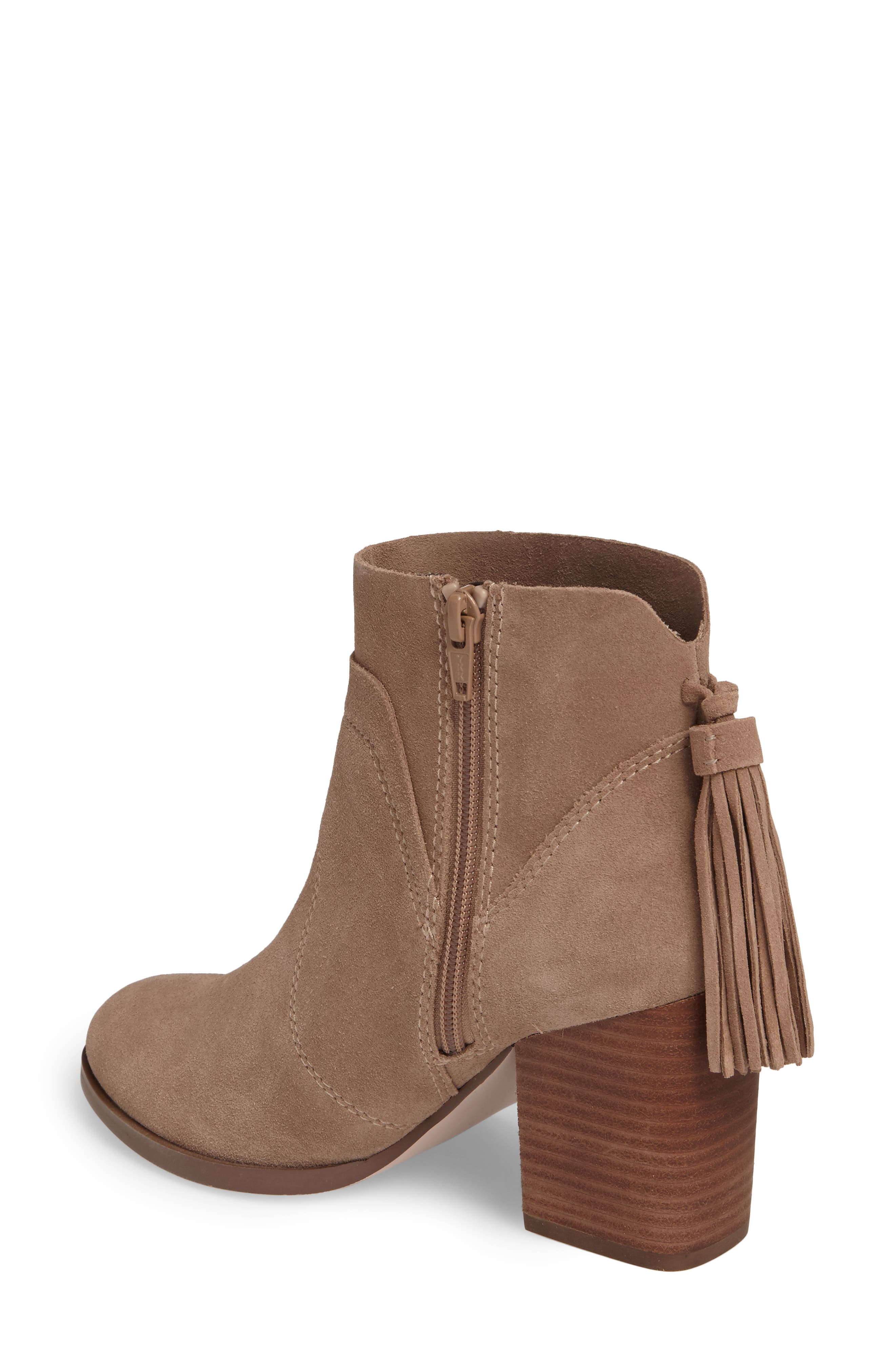 Ambrose Bootie,                             Alternate thumbnail 2, color,                             Taupe