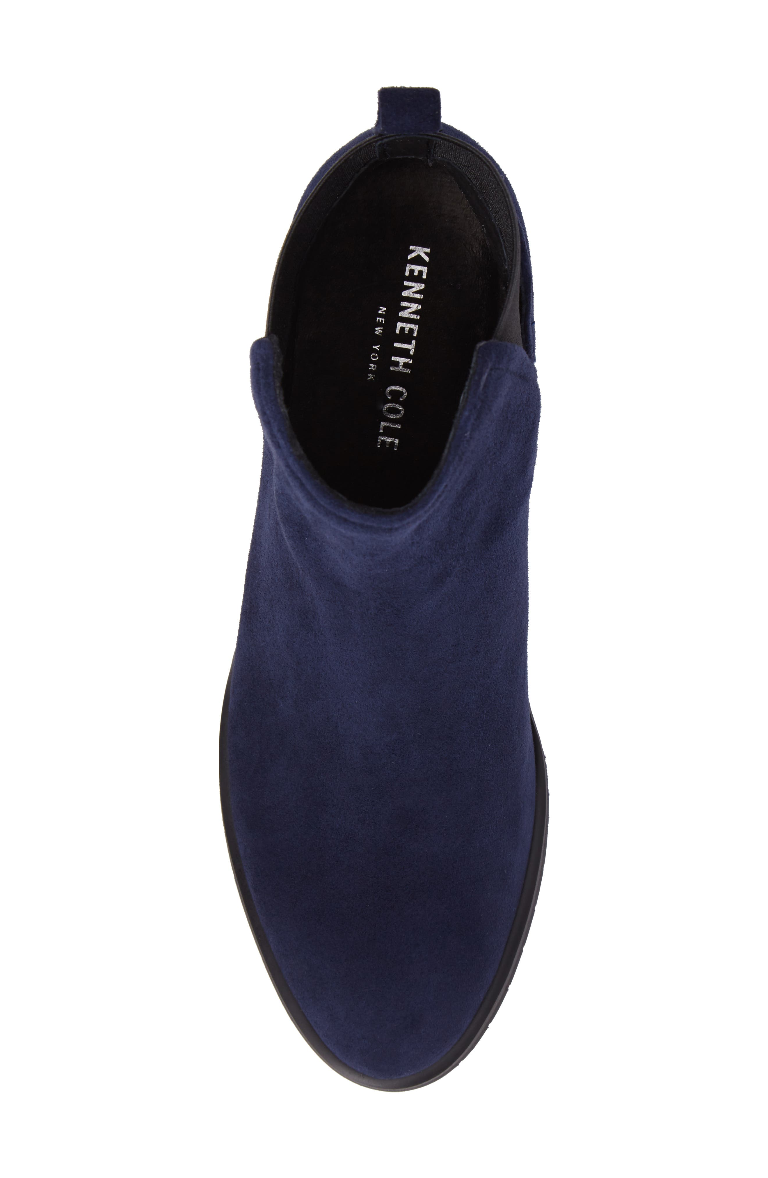 Artie Bootie,                             Alternate thumbnail 5, color,                             Navy Suede