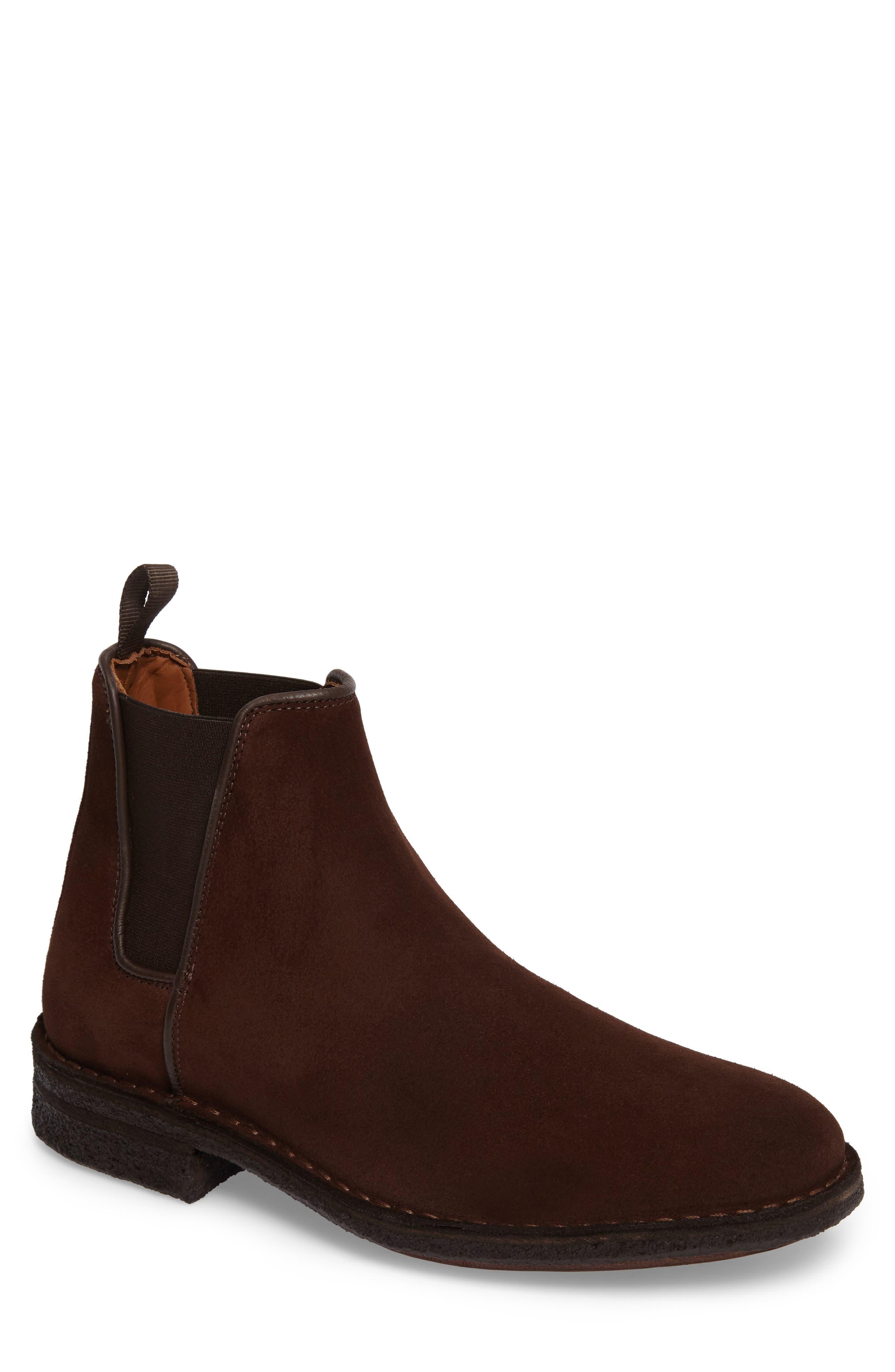 Oscar Chelsea Boot,                             Main thumbnail 1, color,                             Medium Brown
