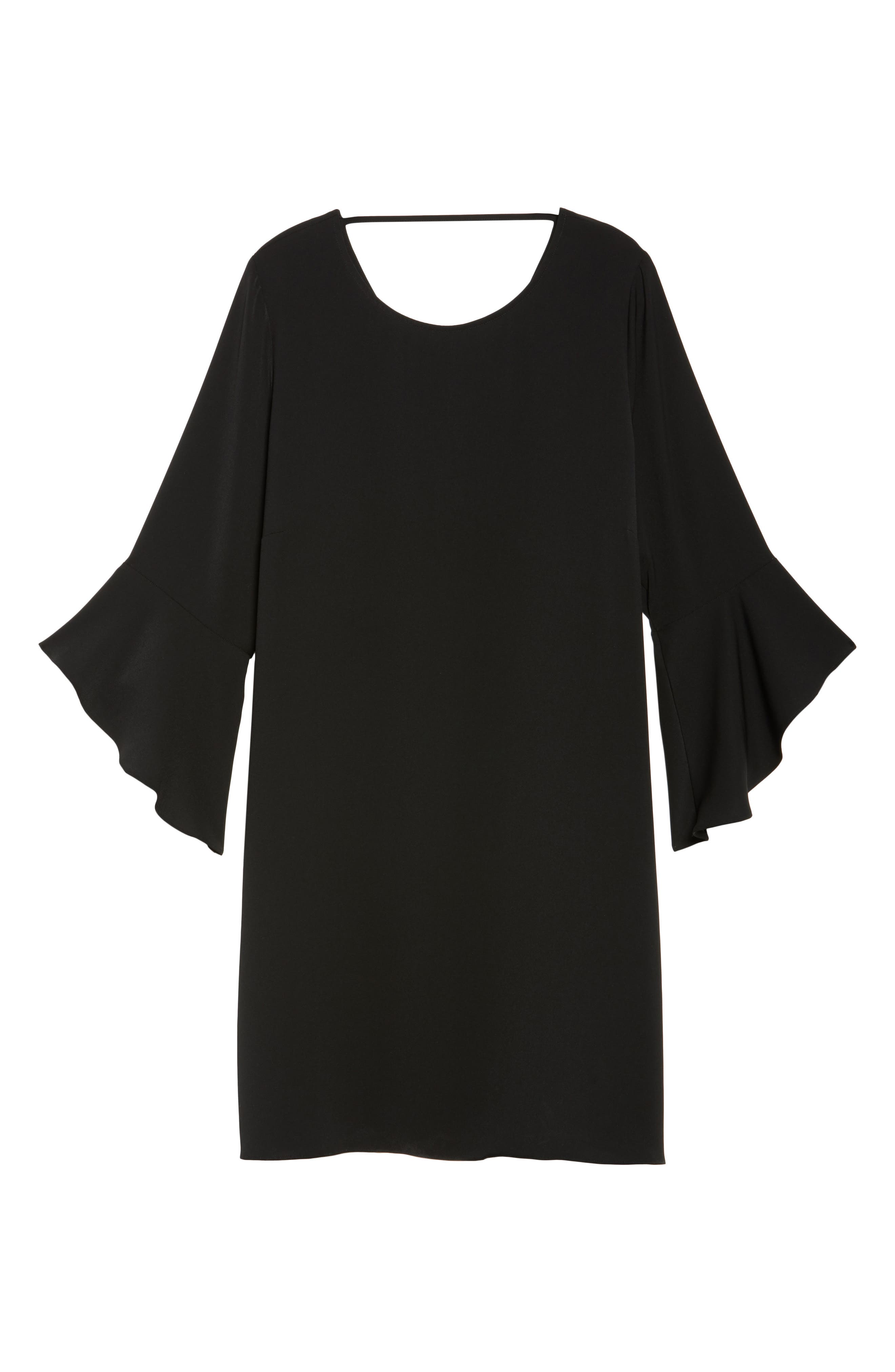 Alternate Image 6  - Glamorous Bell Sleeve Shift Dress (Plus Size)