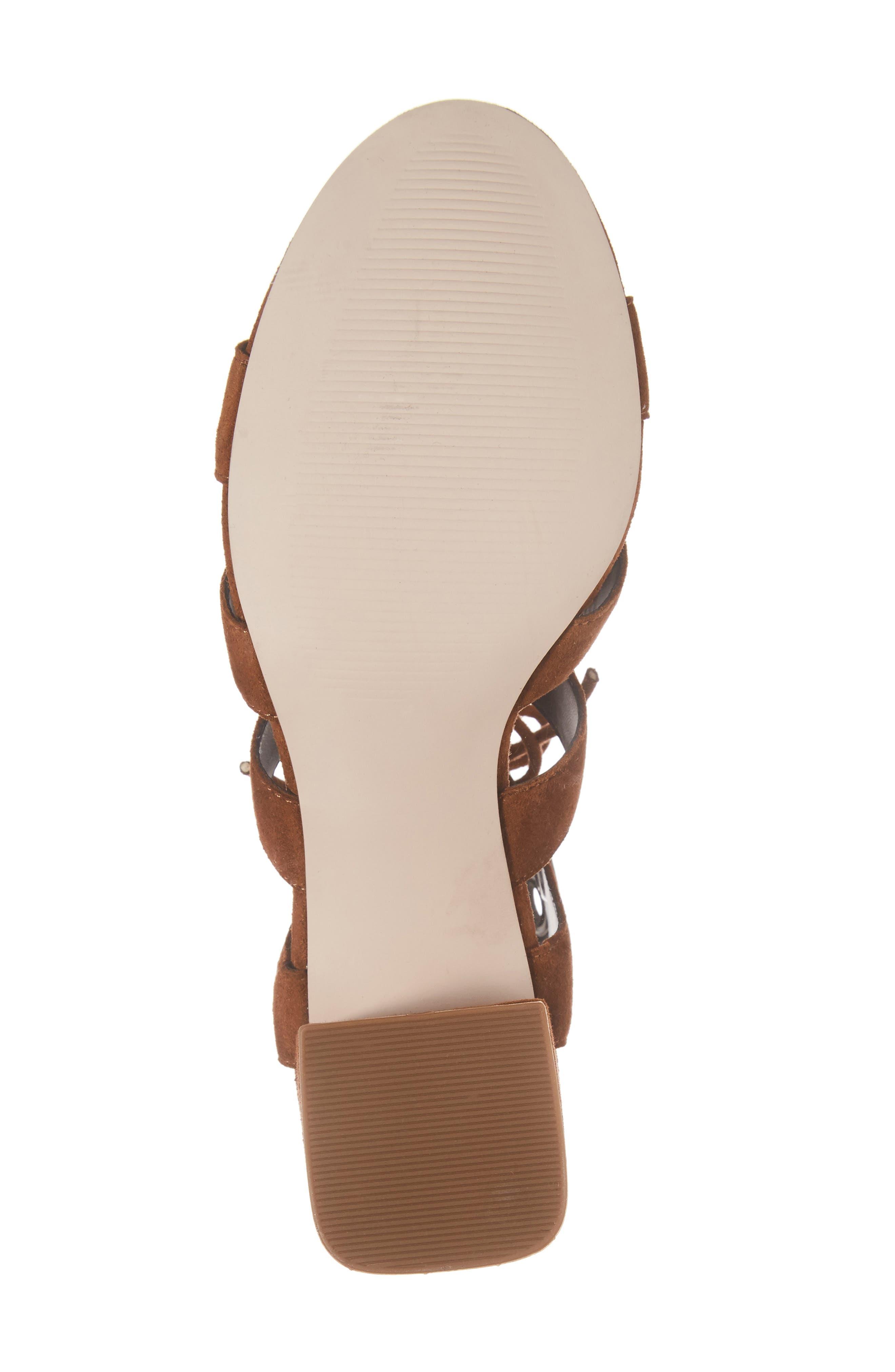 Alternate Image 6  - Sole Society Rosemary Lace-Up Sandal (Women)